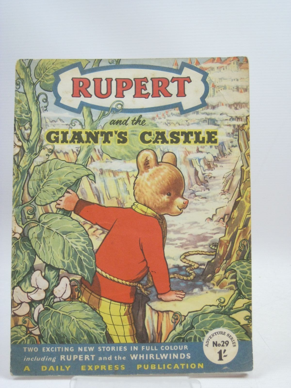 Photo of RUPERT ADVENTURE SERIES No. 29 - RUPERT AND THE GIANT'S CASTLE written by Bestall, Alfred published by Daily Express (STOCK CODE: 1315985)  for sale by Stella & Rose's Books
