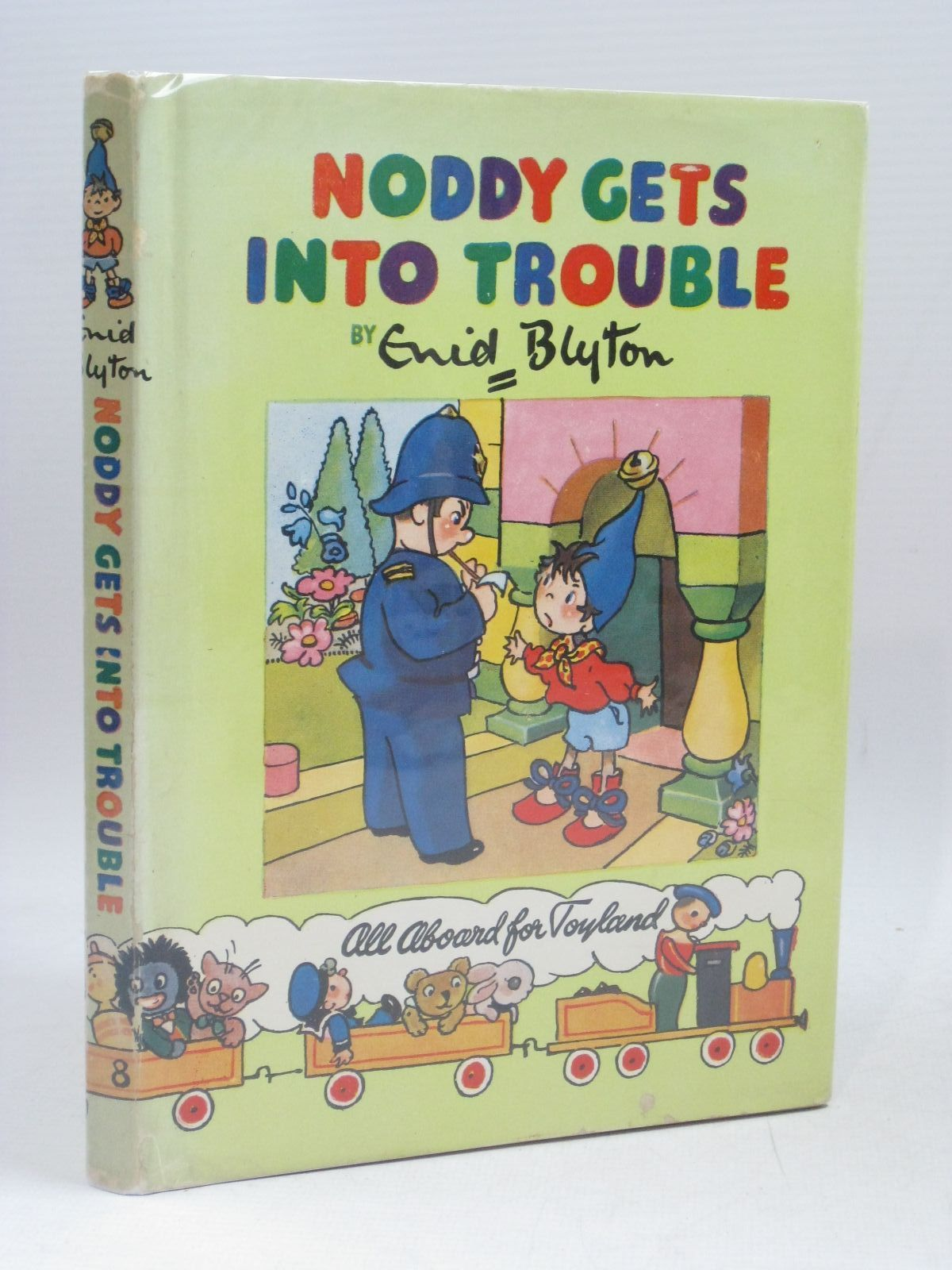 Photo of NODDY GETS INTO TROUBLE written by Blyton, Enid illustrated by Brooks, Mary published by Sampson Low, Marston & Co. Ltd., C.A. Publications Ltd. (STOCK CODE: 1316033)  for sale by Stella & Rose's Books