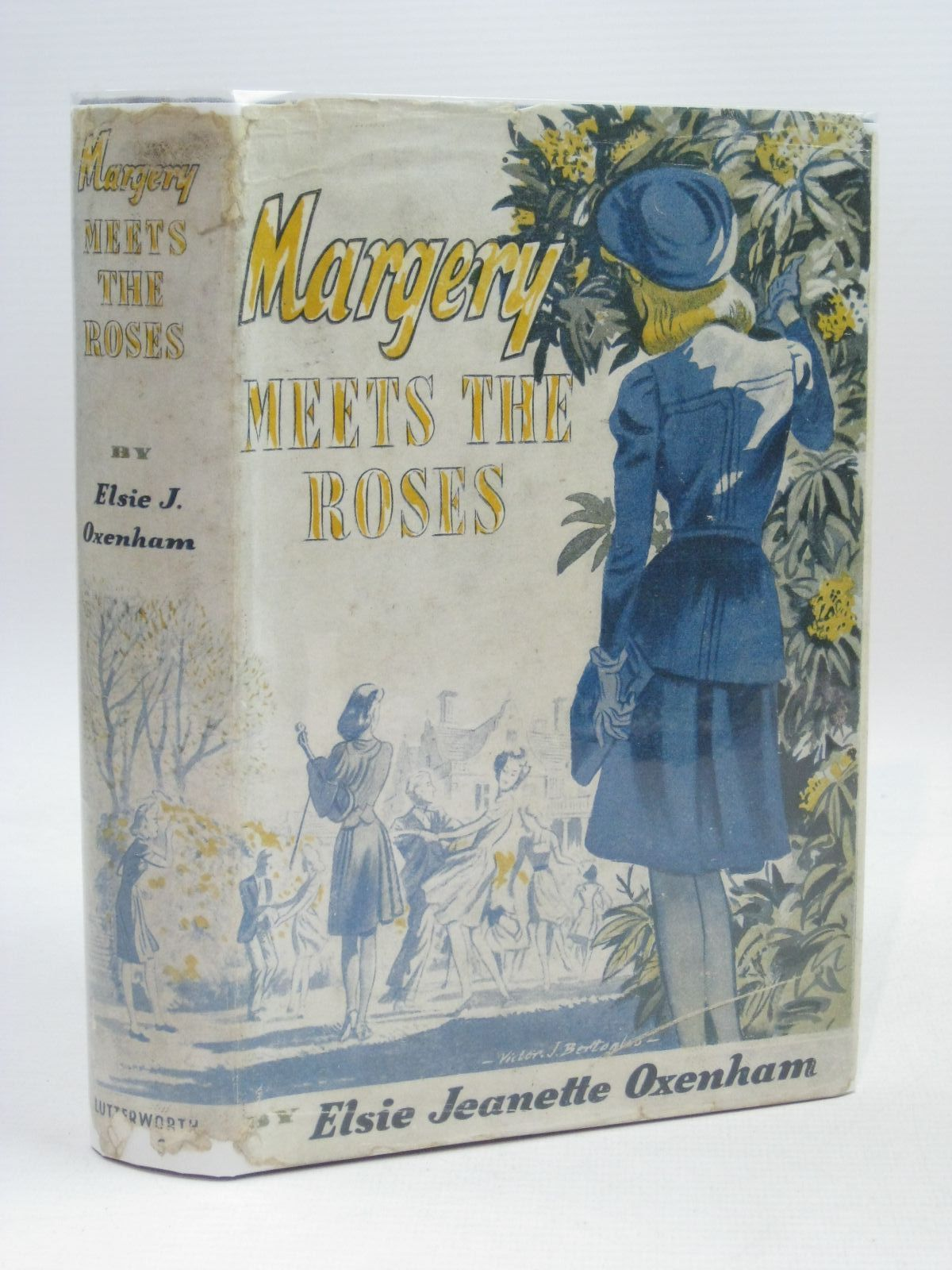 Photo of MARGERY MEETS THE ROSES written by Oxenham, Elsie J. published by Lutterworth Press (STOCK CODE: 1316081)  for sale by Stella & Rose's Books