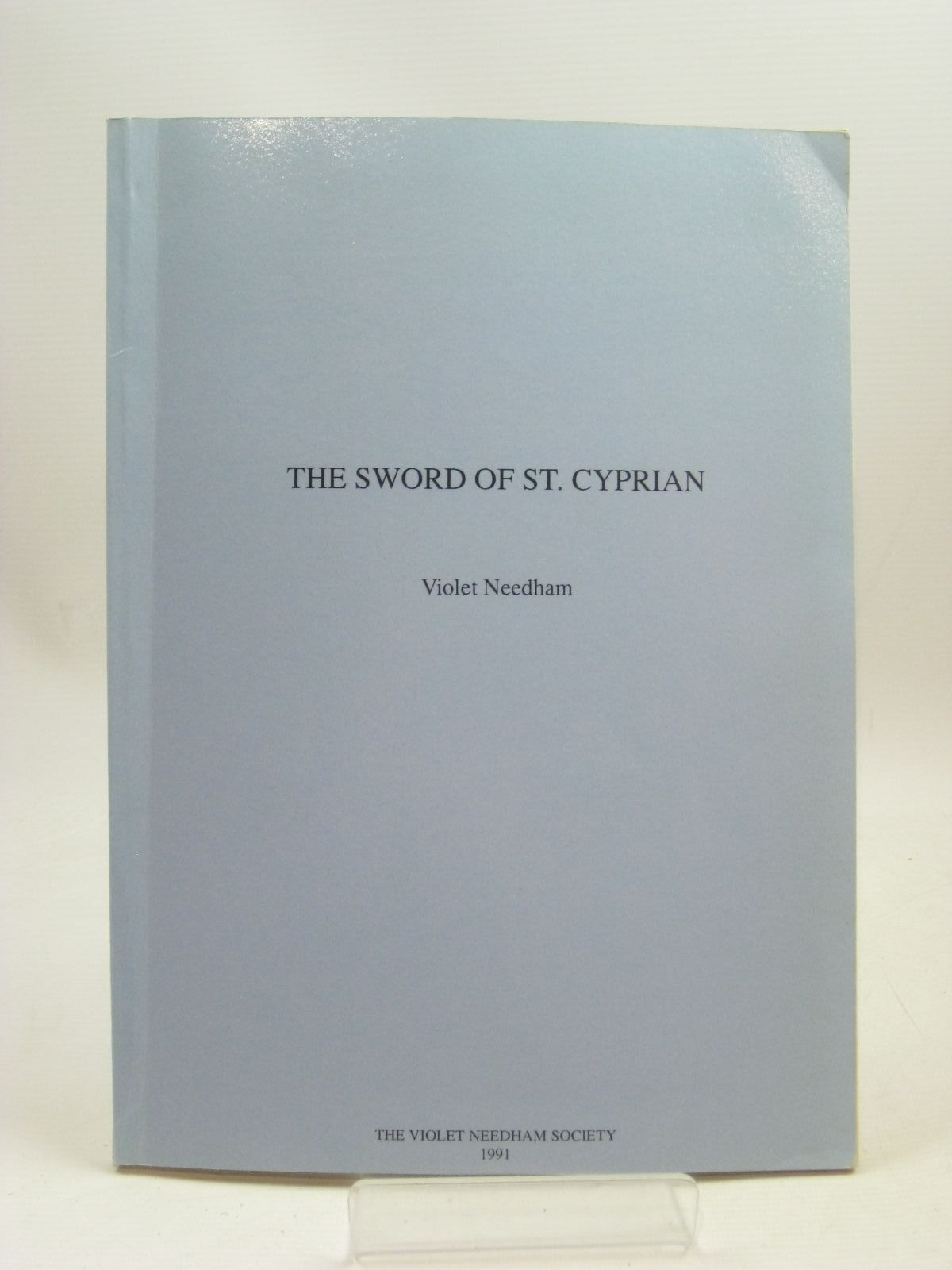 Photo of THE SWORD OF ST. CYPRIAN written by Needham, Violet published by The Violet Needham Society (STOCK CODE: 1316112)  for sale by Stella & Rose's Books