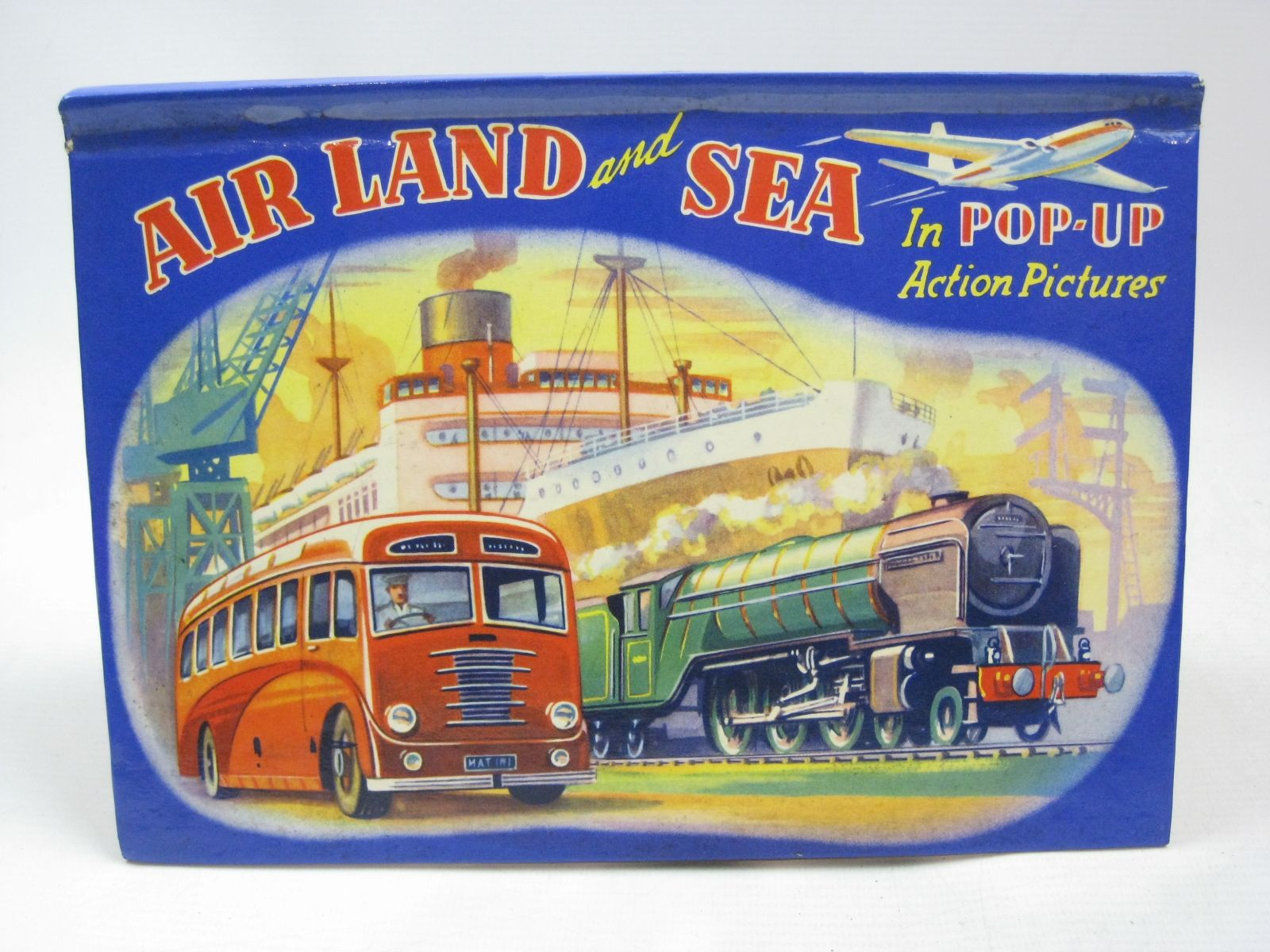 Photo of AIR LAND AND SEA IN POP-UP ACTION PICTURES- Stock Number: 1316148