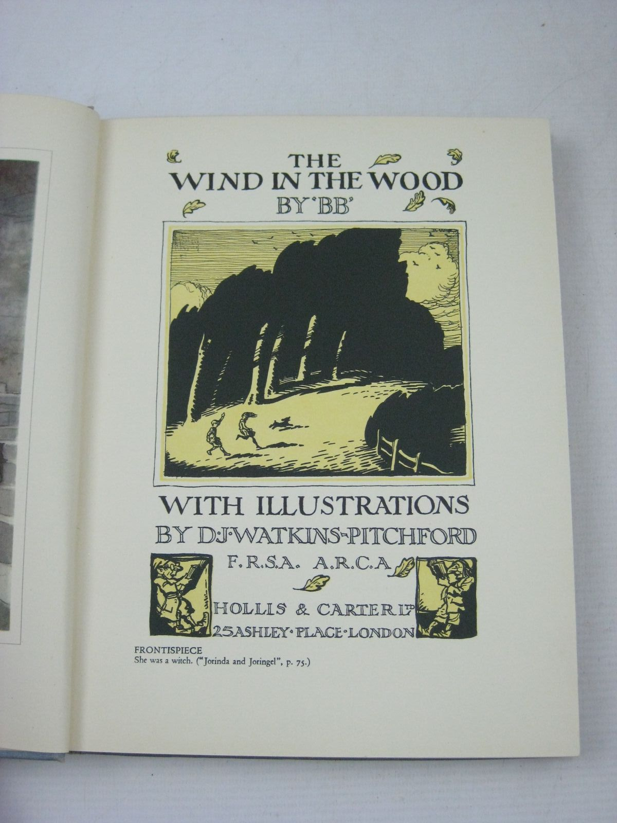Photo of THE WIND IN THE WOOD written by BB,  illustrated by BB,  published by Hollis & Carter (STOCK CODE: 1316179)  for sale by Stella & Rose's Books