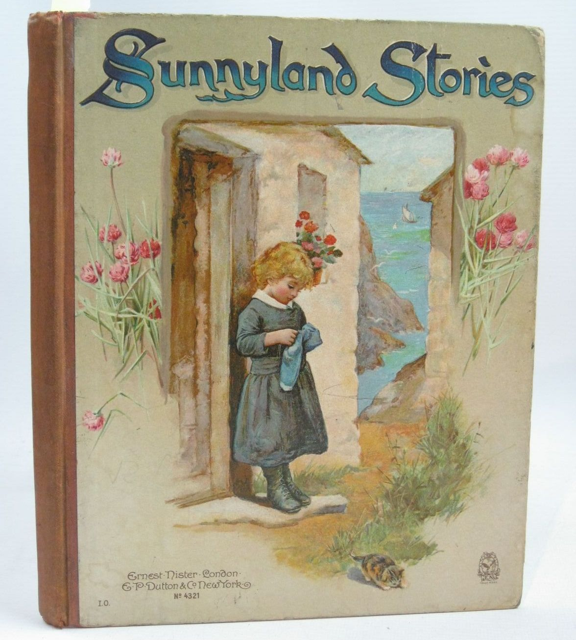 Photo of SUNNY LAND STORIES written by Molesworth, Olive<br />Bingham, Clifton<br />Hoyer, M.A.<br />Nesbit, E.<br />et al, illustrated by Bennett, Harriett M. published by Ernest Nister, E.P. Dutton &amp; Co. (STOCK CODE: 1316195)  for sale by Stella & Rose's Books