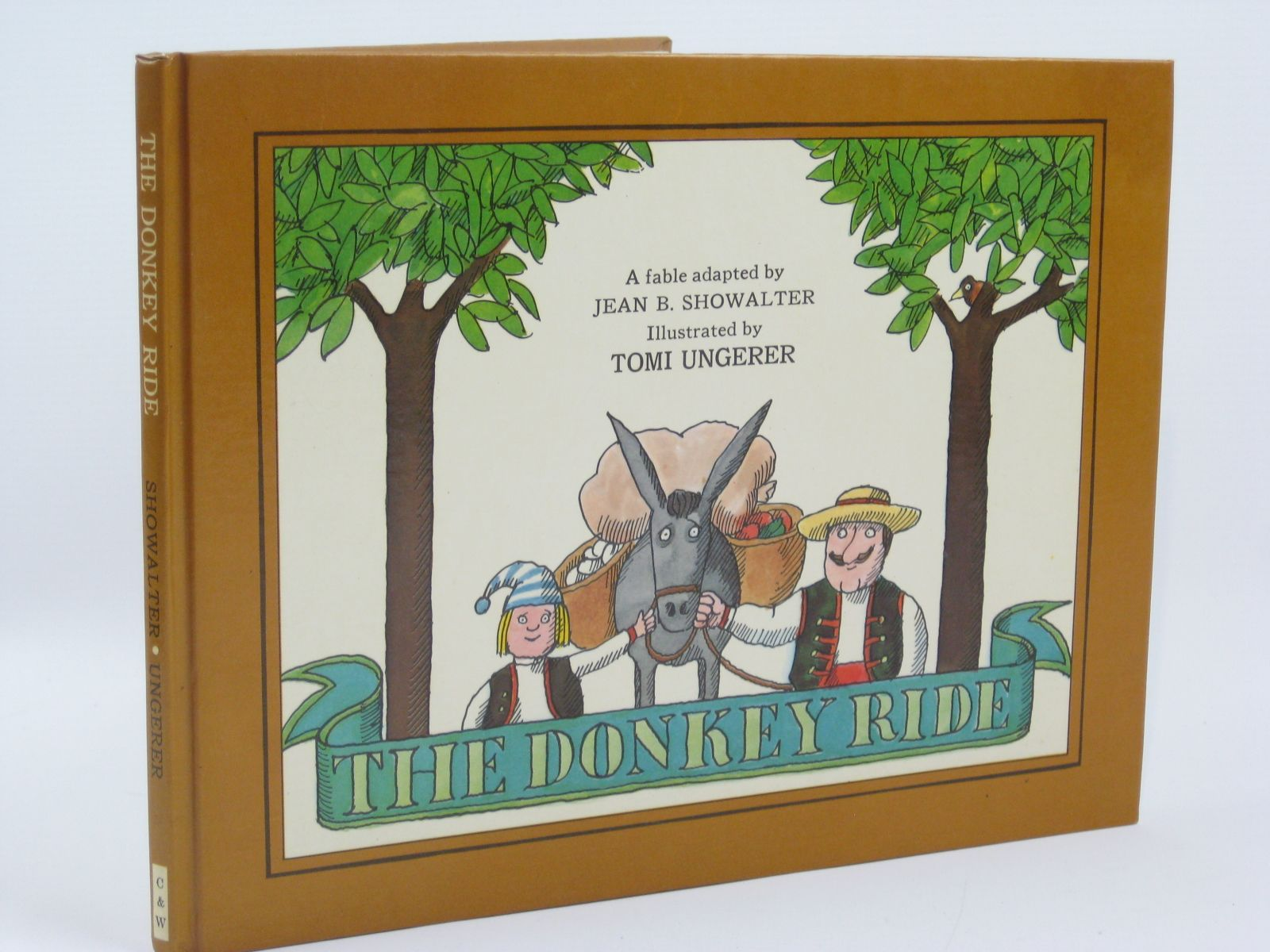 Photo of THE DONKEY RIDE written by Showalter, Jean B. illustrated by Ungerer, Tomi published by Chatto & Windus Ltd (STOCK CODE: 1316305)  for sale by Stella & Rose's Books