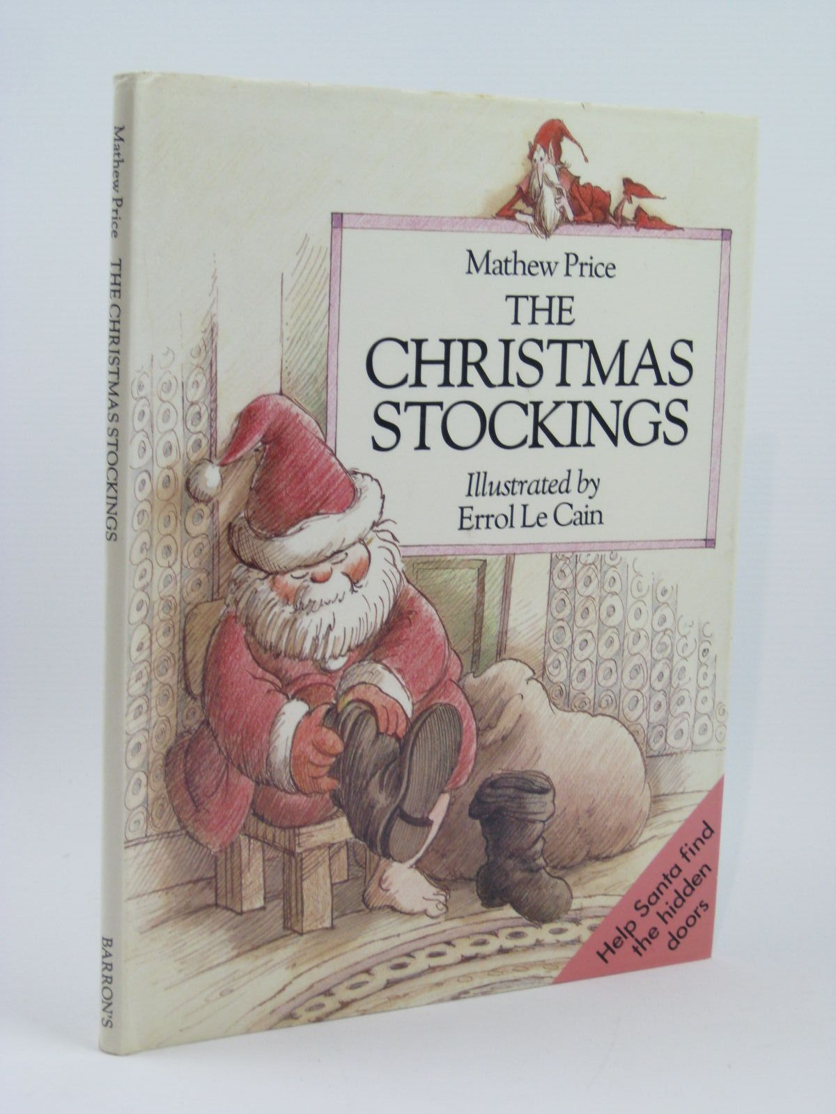 Photo of THE CHRISTMAS STOCKINGS written by Price, Matthew illustrated by Le Cain, Errol published by Barron's Educational Series (STOCK CODE: 1316309)  for sale by Stella & Rose's Books