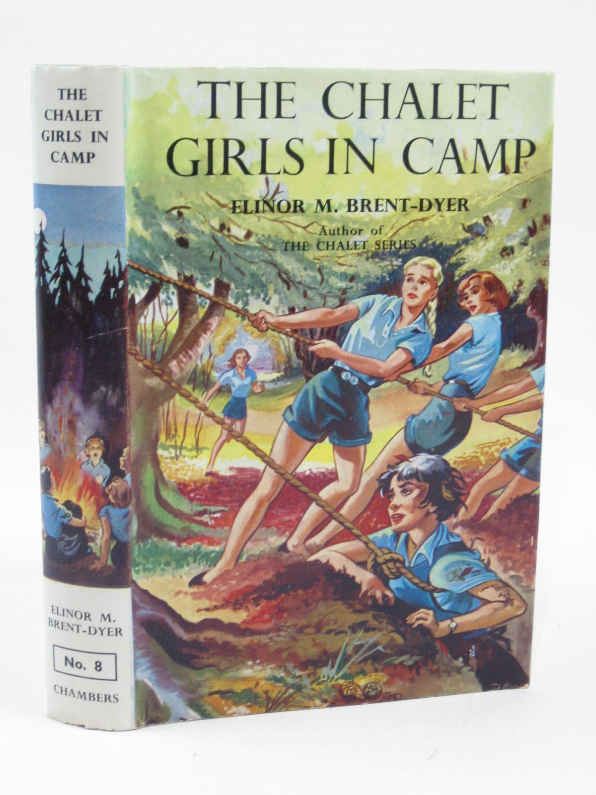 Photo of THE CHALET GIRLS IN CAMP written by Brent-Dyer, Elinor M. published by W. & R. Chambers (STOCK CODE: 1316371)  for sale by Stella & Rose's Books