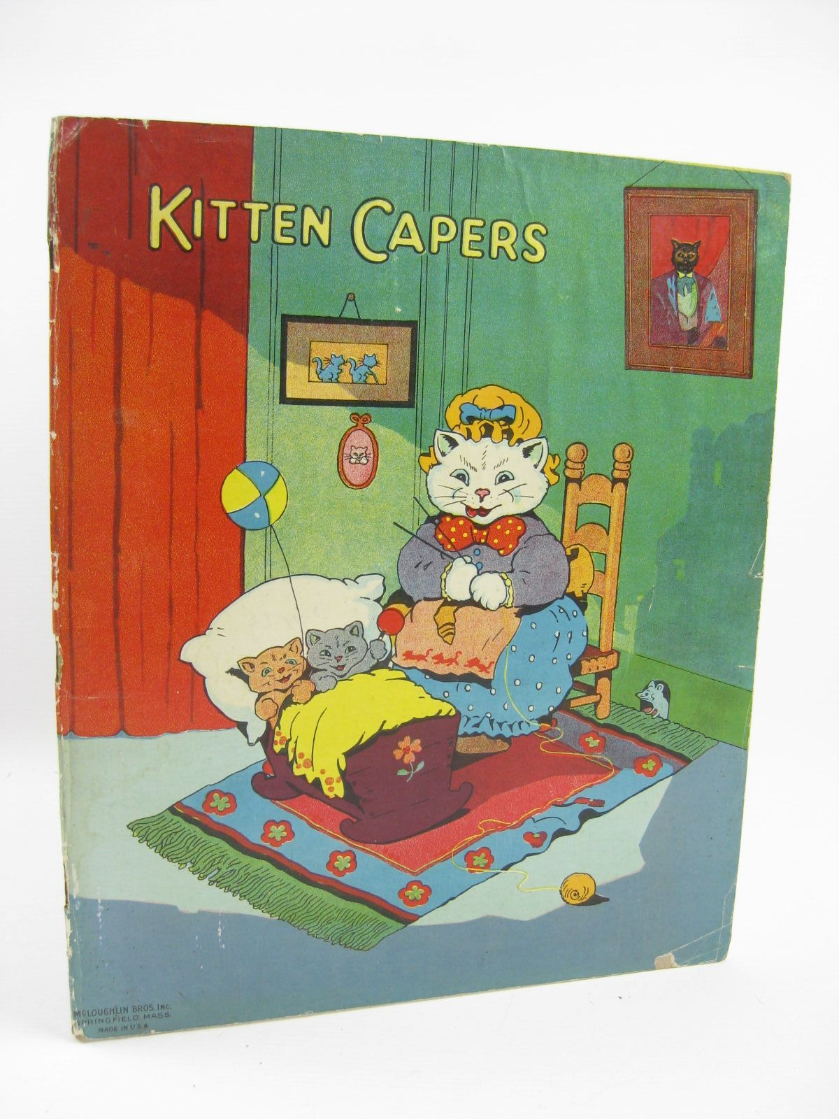 Photo of KITTEN CAPERS illustrated by Wain, Louis et al., published by McLoughlin Bros. (STOCK CODE: 1316413)  for sale by Stella & Rose's Books