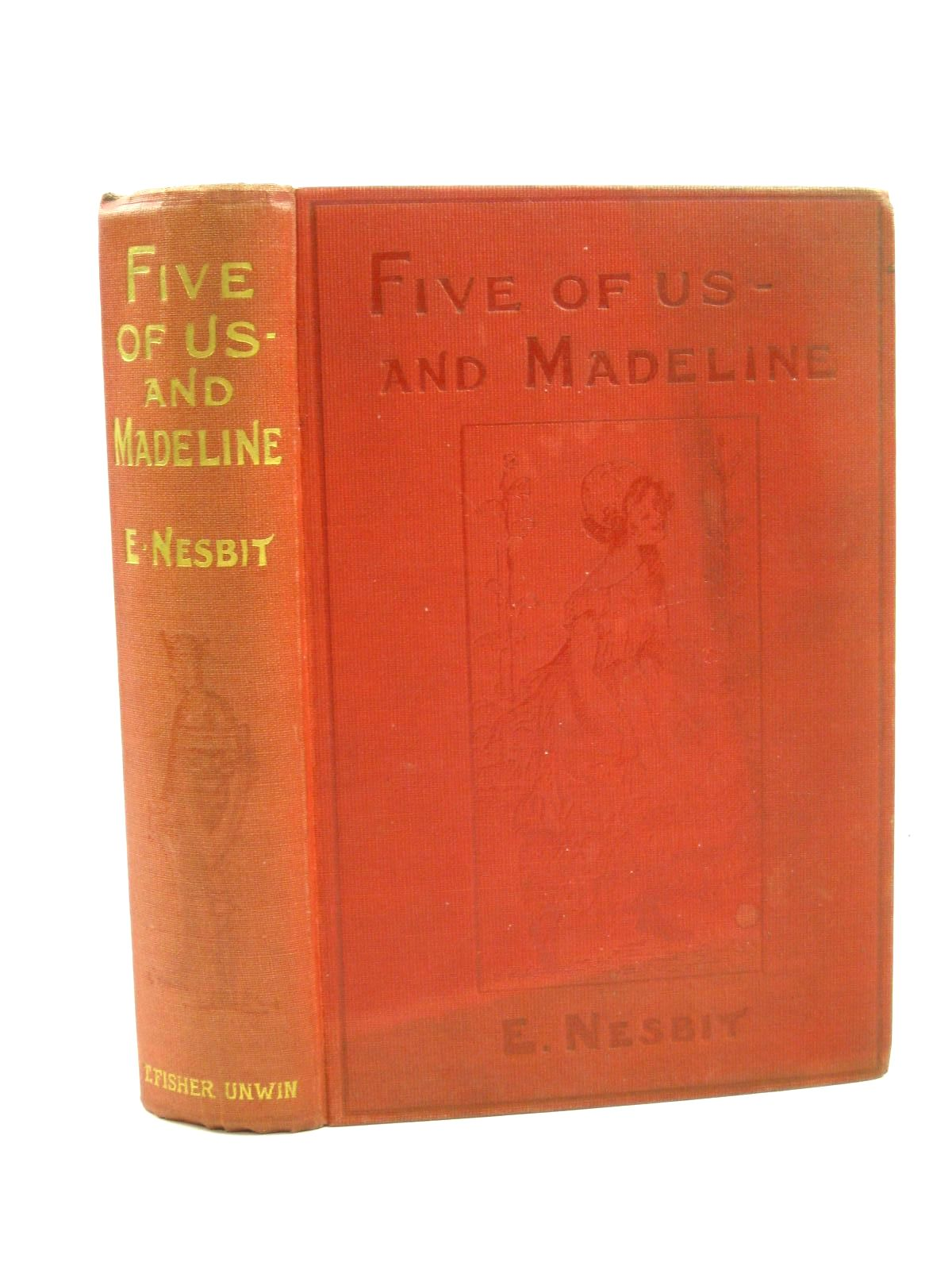 Photo of FIVE OF US AND MADELINE written by Nesbit, E. illustrated by Unwin, Nora published by T. Fisher Unwin Ltd. (STOCK CODE: 1316427)  for sale by Stella & Rose's Books