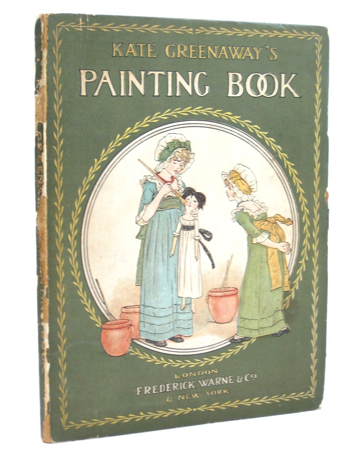 Photo of KATE GREENAWAY'S PAINTING BOOK written by Greenaway, Kate illustrated by Greenaway, Kate published by Frederick Warne & Co. (STOCK CODE: 1316434)  for sale by Stella & Rose's Books