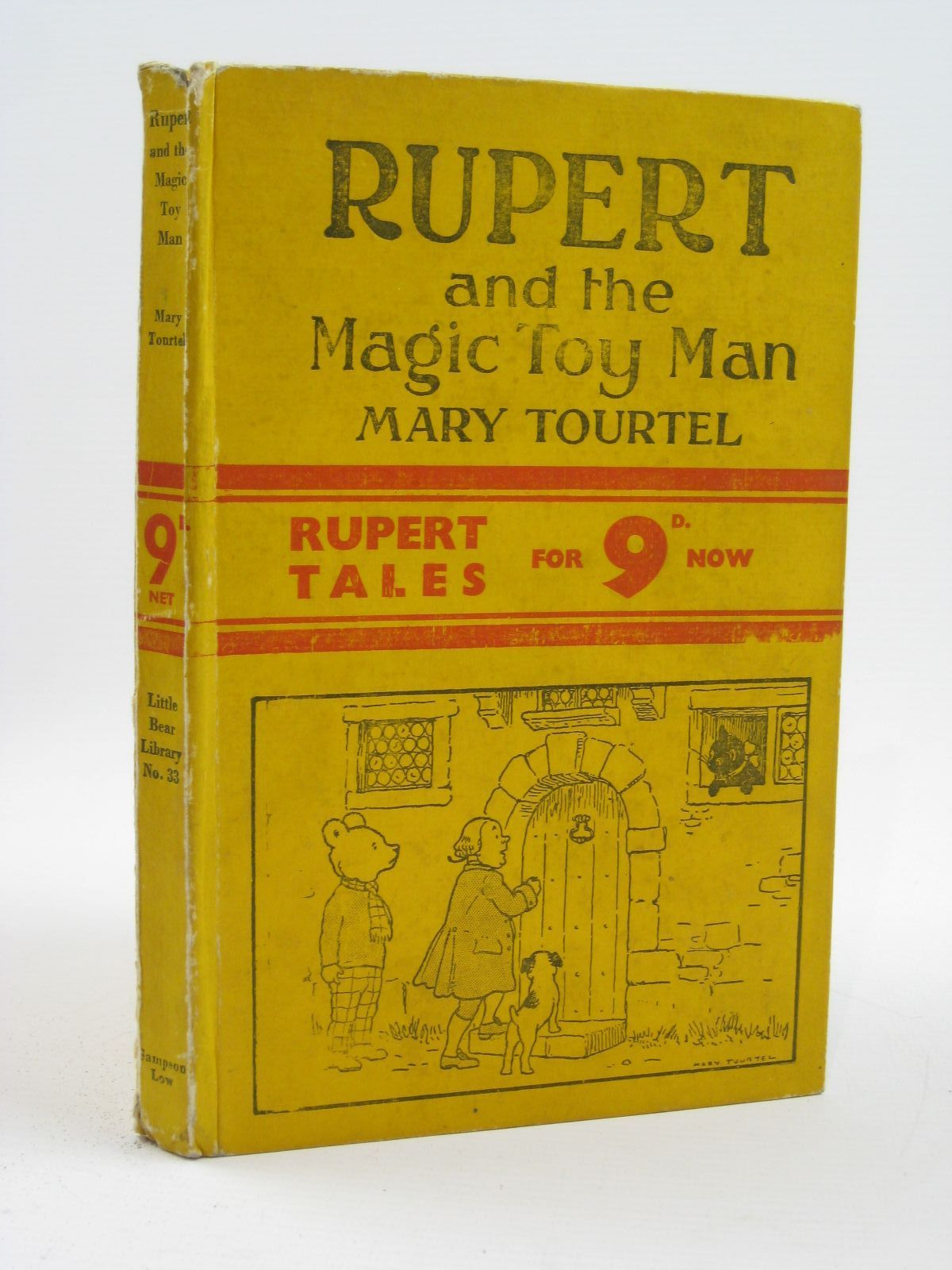 Photo of RUPERT AND THE MAGIC TOY MAN - RUPERT LITTLE BEAR LIBRARY NO. 33 written by Tourtel, Mary illustrated by Tourtel, Mary published by Sampson Low, Marston & Co. Ltd. (STOCK CODE: 1316473)  for sale by Stella & Rose's Books