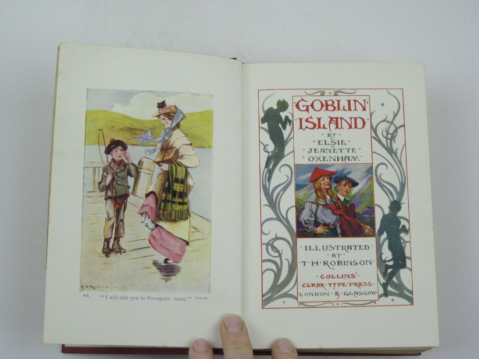 Photo of GOBLIN ISLAND written by Oxenham, Elsie J. illustrated by Robinson, T.H.