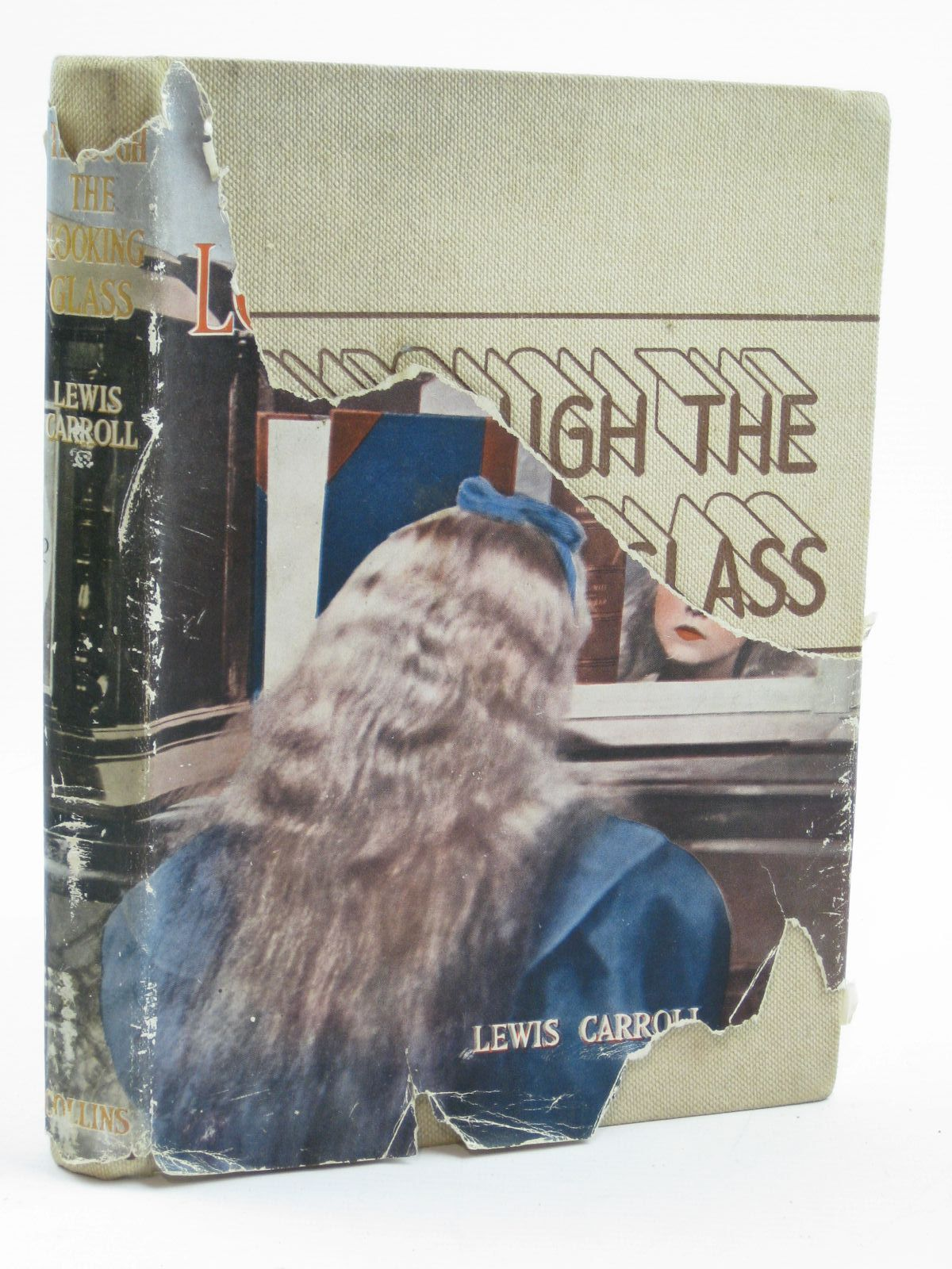 Photo of THROUGH THE LOOKING-GLASS written by Carroll, Lewis illustrated by Mountfort, Irene published by Collins (STOCK CODE: 1316499)  for sale by Stella & Rose's Books