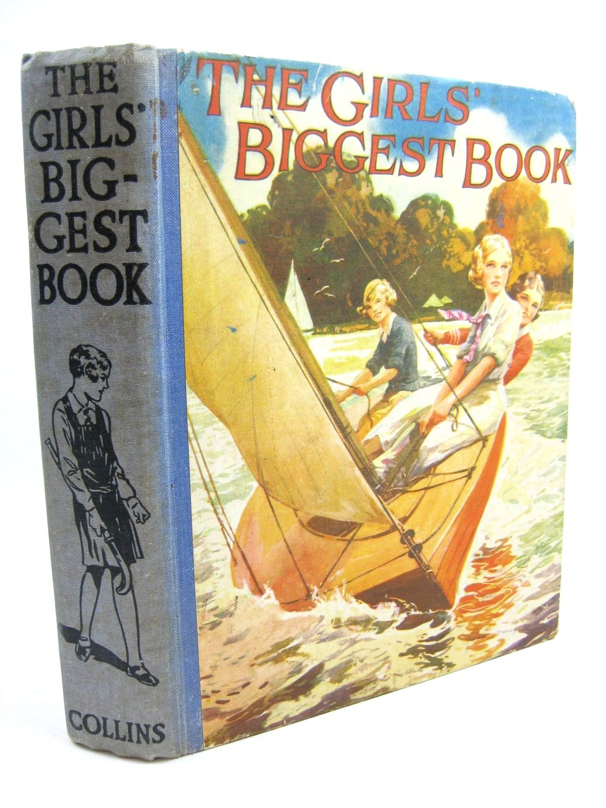 Photo of THE GIRLS' BIGGEST BOOK written by Oxenham, Elsie J.<br />Scott-Hopper, Queenie<br />Mansfield, Estrith<br />Oldmeadow, Katharine<br />et al, illustrated by Wood, Elsie Anna<br />Osborne, D.<br />et al., published by Collins Clear-Type Press (STOCK CODE: 1316544)  for sale by Stella & Rose's Books