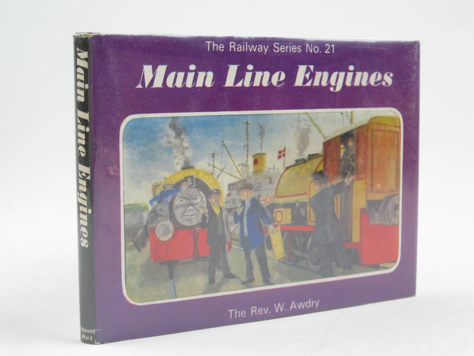 Photo of MAIN LINE ENGINES written by Awdry, Rev. W. illustrated by Edwards, Gunvor Edwards, Peter published by Edmund Ward Ltd. (STOCK CODE: 1316739)  for sale by Stella & Rose's Books