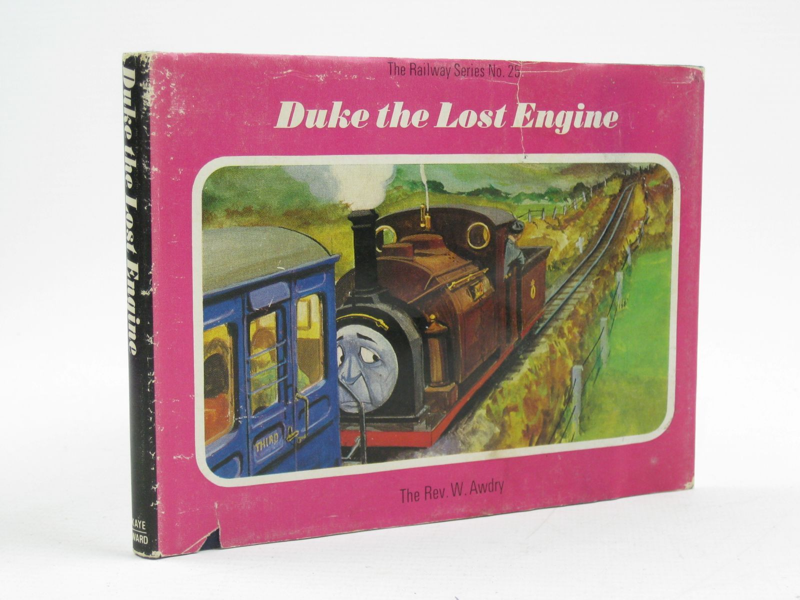 Photo of DUKE THE LOST ENGINE written by Awdry, Rev. W. illustrated by Edwards, Gunvor Edwards, Peter published by Kaye & Ward Ltd. (STOCK CODE: 1316742)  for sale by Stella & Rose's Books
