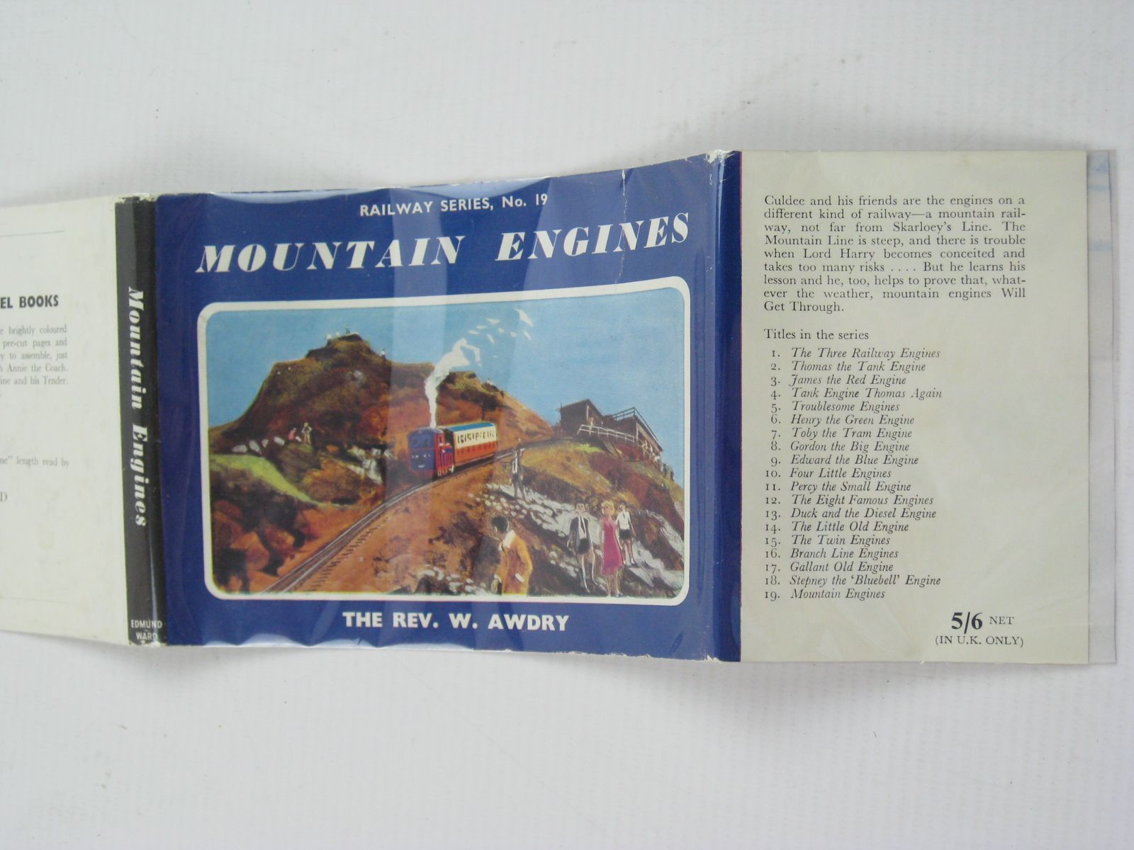 Photo of MOUNTAIN ENGINES written by Awdry, Rev. W. illustrated by Edwards, Gunvor Edwards, Peter published by Edmund Ward (STOCK CODE: 1316754)  for sale by Stella & Rose's Books