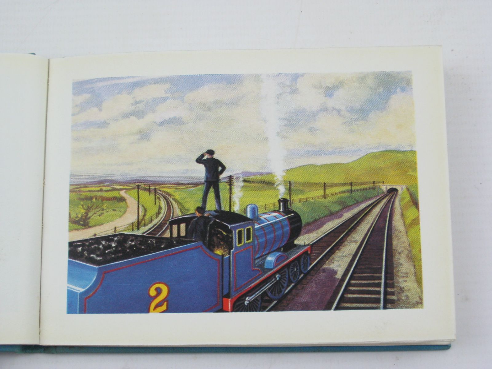 Photo of EDWARD THE BLUE ENGINE written by Awdry, Rev. W. illustrated by Dalby, C. Reginald published by Edmund Ward Ltd. (STOCK CODE: 1316756)  for sale by Stella & Rose's Books