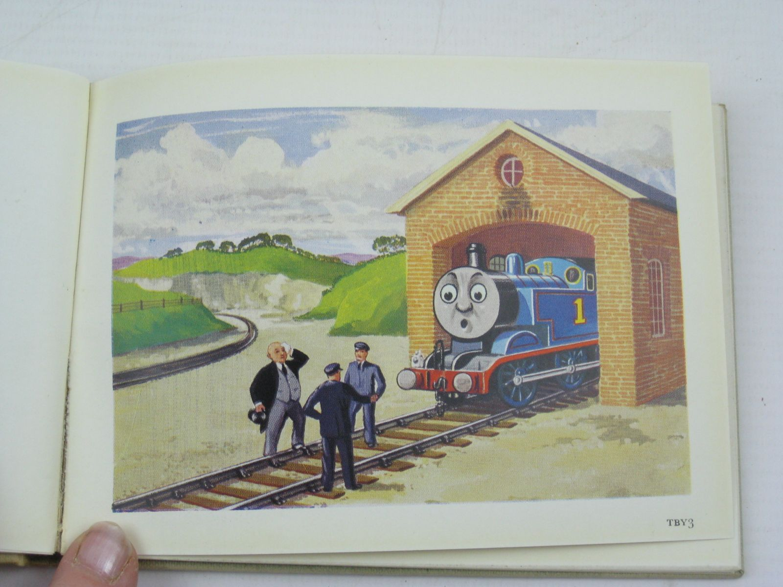 Photo of TOBY THE TRAM ENGINE written by Awdry, Rev. W. illustrated by Dalby, C. Reginald published by Edmund Ward (STOCK CODE: 1316758)  for sale by Stella & Rose's Books