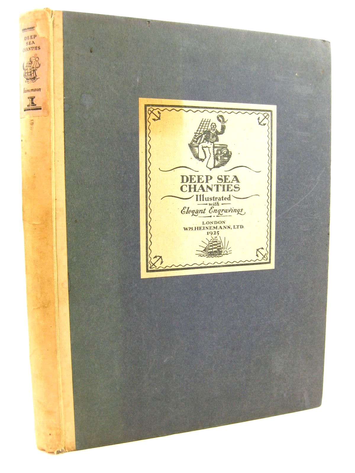 Photo of DEEP SEA CHANTIES written by Shay, Frank McFee, William illustrated by Wilson, Edward A. published by William Heinemann Ltd. (STOCK CODE: 1316787)  for sale by Stella & Rose's Books