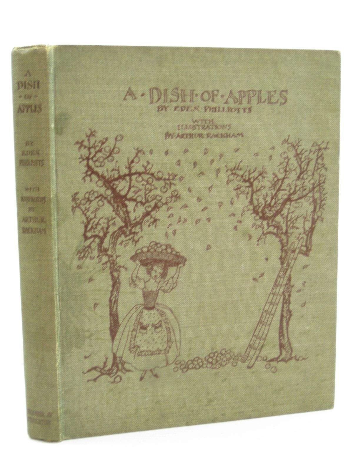 Photo of A DISH OF APPLES written by Phillpotts, Eden illustrated by Rackham, Arthur published by Hodder & Stoughton (STOCK CODE: 1316807)  for sale by Stella & Rose's Books