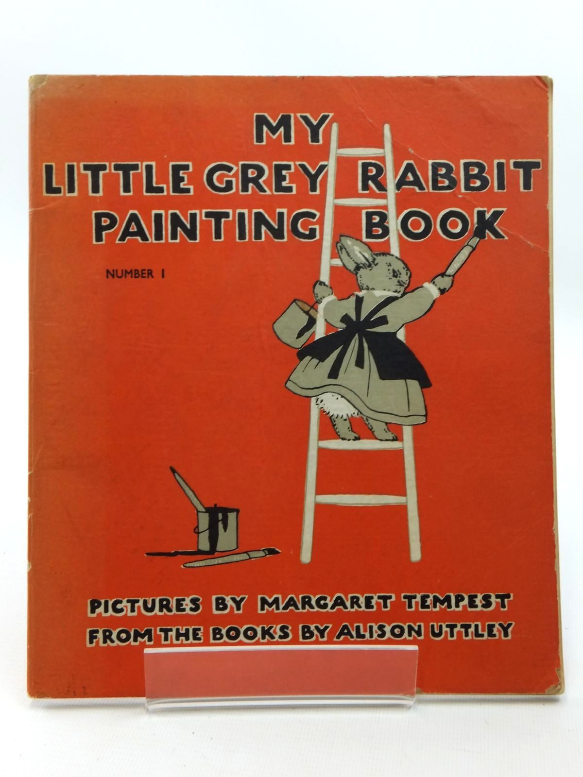 Photo of MY LITTLE GREY RABBIT PAINTING BOOK NUMBER 1 written by Uttley, Alison illustrated by Tempest, Margaret published by Collins (STOCK CODE: 1316947)  for sale by Stella & Rose's Books