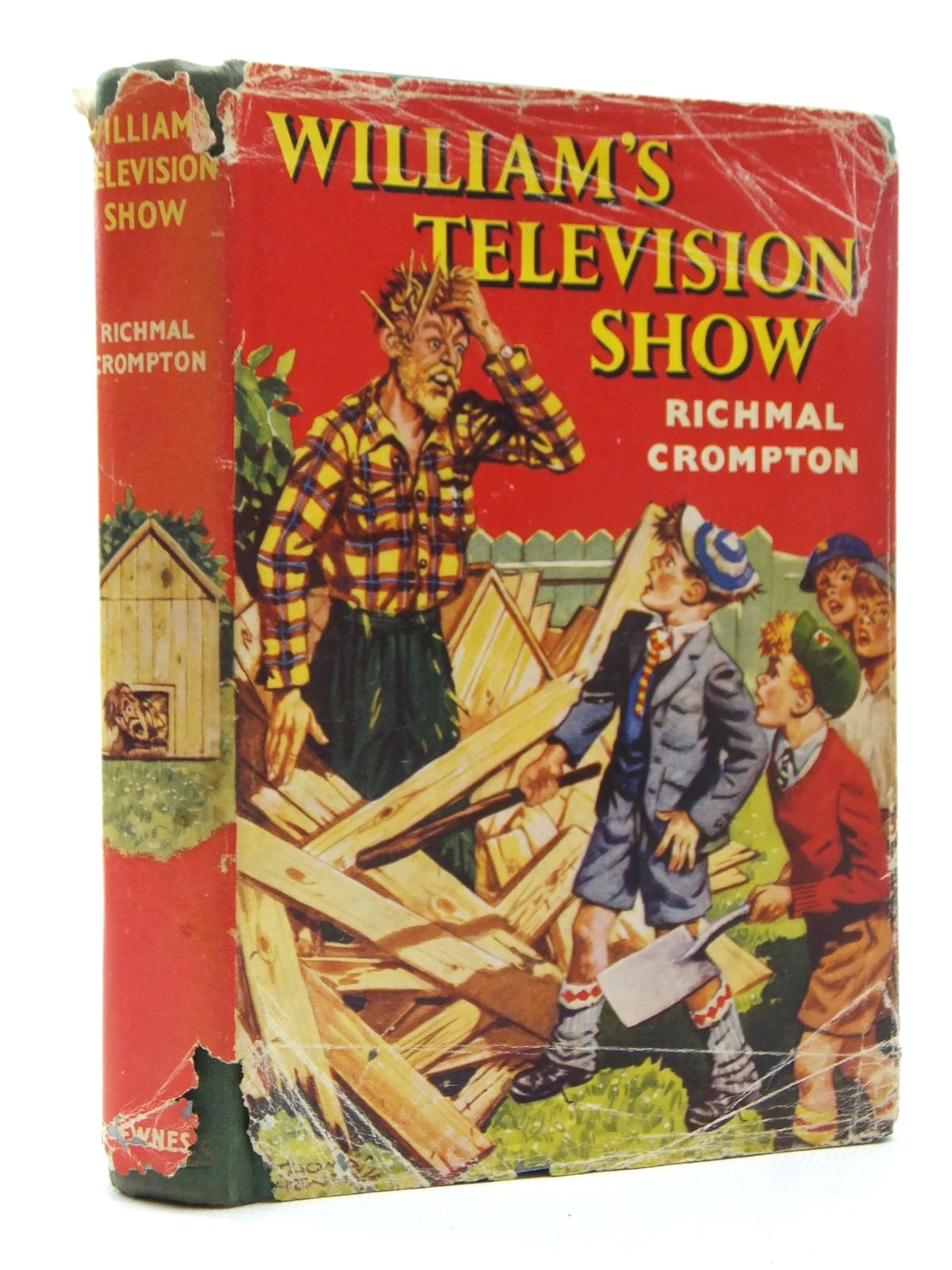 Photo of WILLIAM'S TELEVISION SHOW written by Crompton, Richmal illustrated by Henry, Thomas published by George Newnes Limited (STOCK CODE: 1317017)  for sale by Stella & Rose's Books