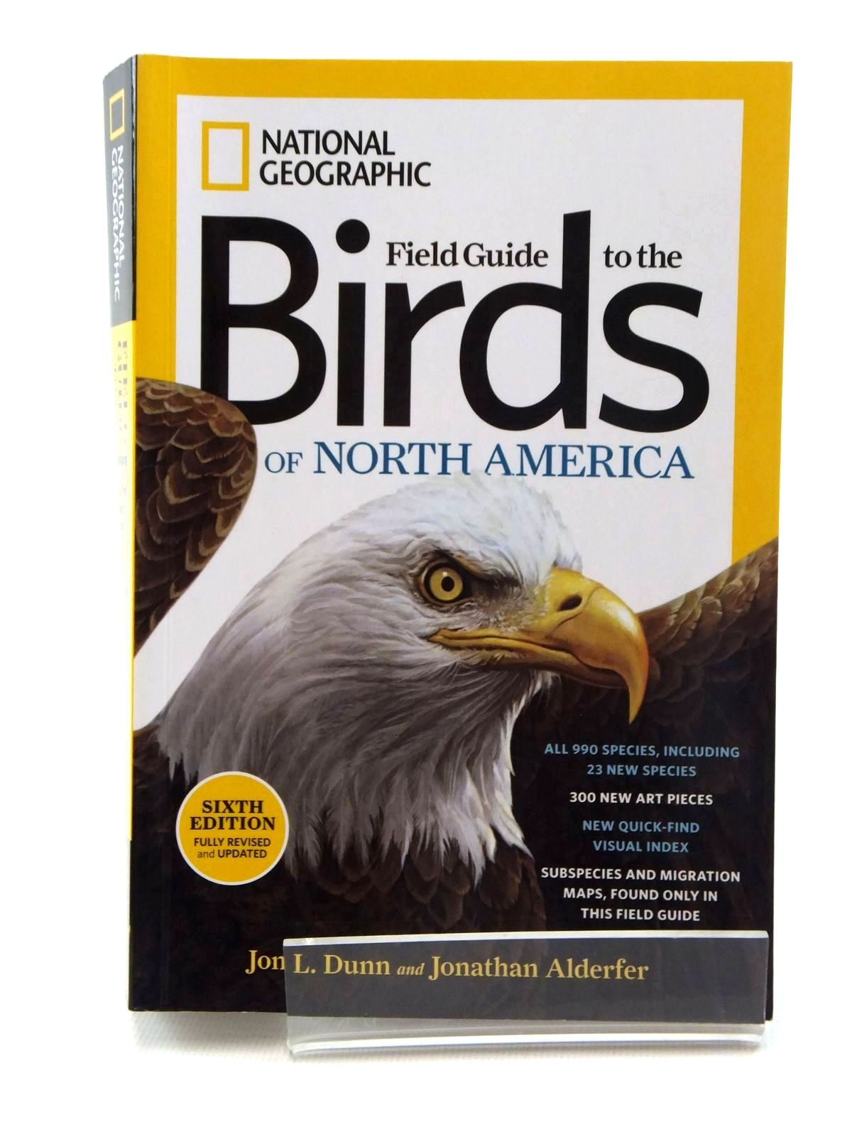 Photo of FIELD GUIDE TO THE BIRDS OF NORTH AMERICA written by Dunn, Jon L.
