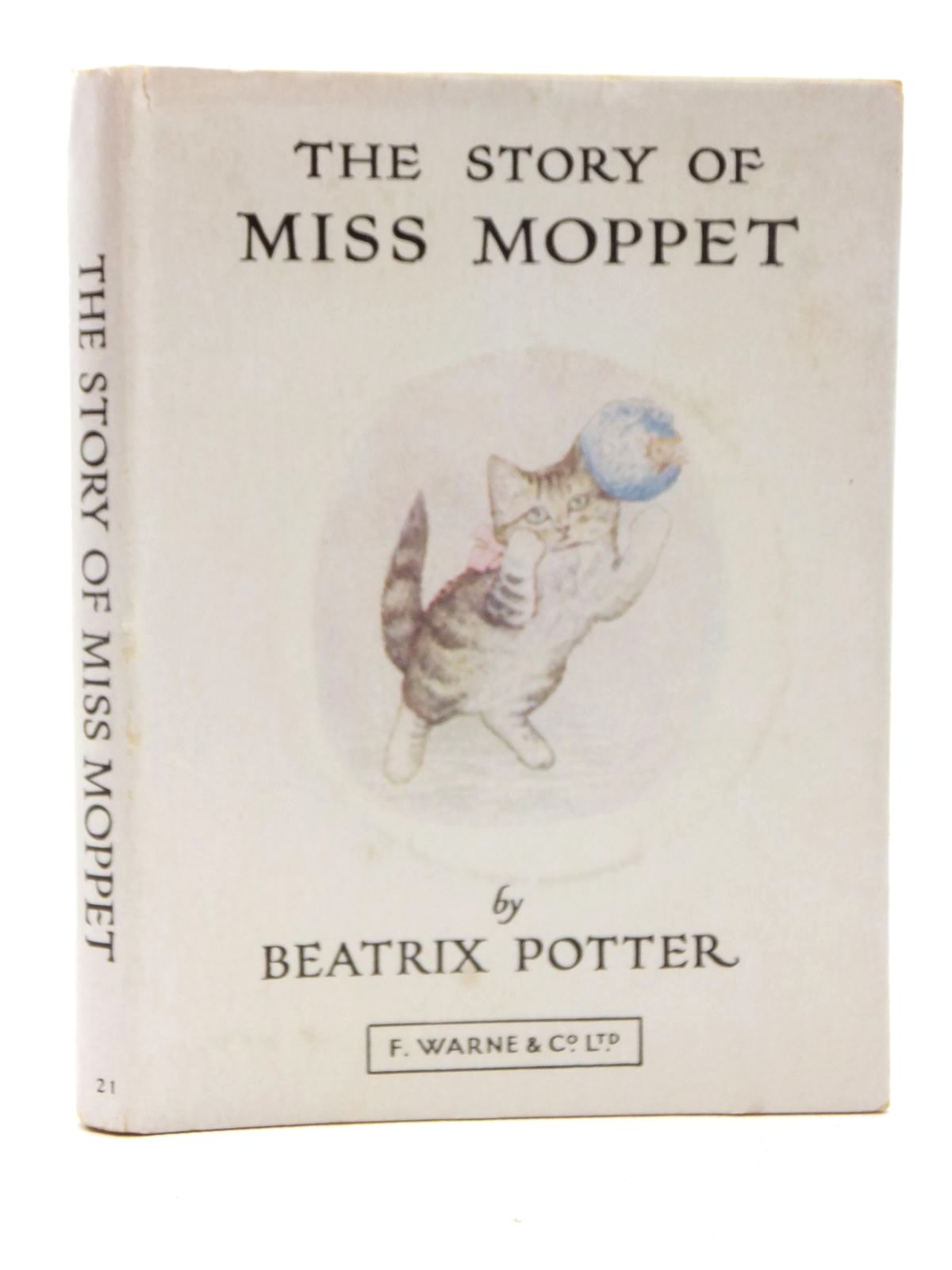 Photo of THE STORY OF MISS MOPPET written by Potter, Beatrix illustrated by Potter, Beatrix published by Frederick Warne & Co Ltd. (STOCK CODE: 1317155)  for sale by Stella & Rose's Books