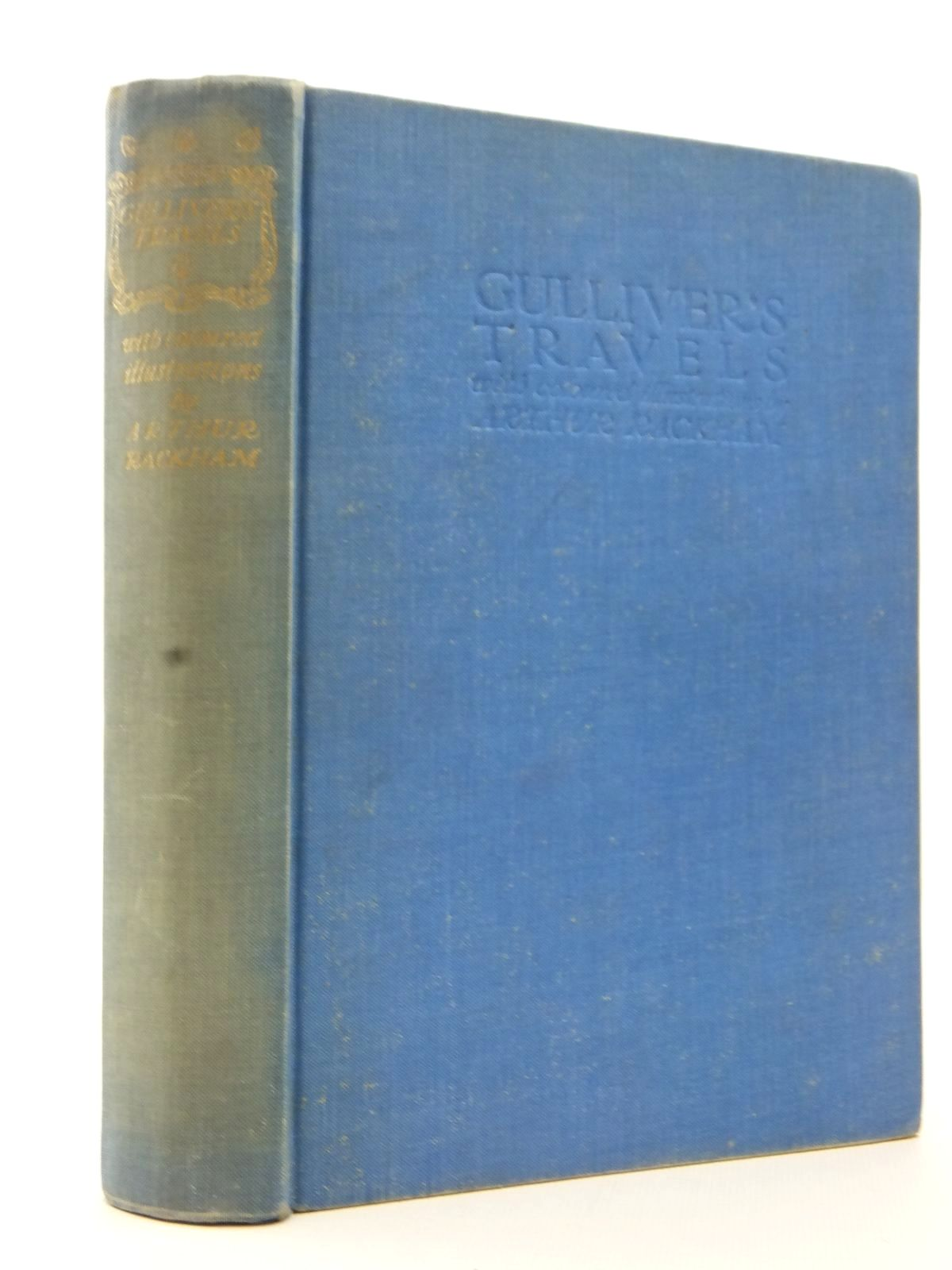 Photo of GULLIVER'S TRAVELS INTO SEVERAL REMOTE NATIONS OF THE WORLD written by Swift, Jonathan illustrated by Rackham, Arthur published by The Temple Press (STOCK CODE: 1317192)  for sale by Stella & Rose's Books