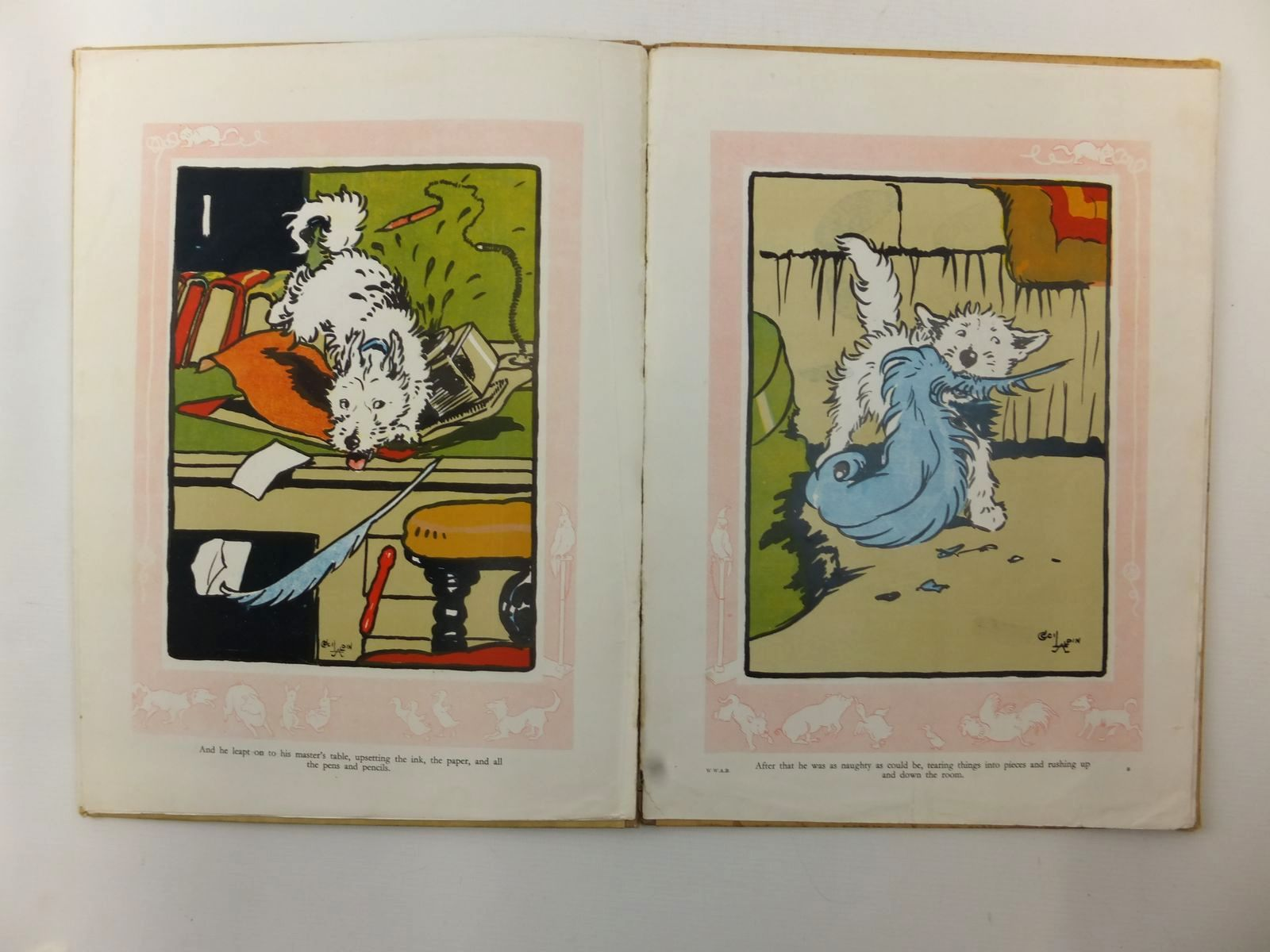 Photo of PUPPY-DOGS FROLICS written by Aldin, Cecil illustrated by Aldin, Cecil published by Collins Clear-Type Press (STOCK CODE: 1317201)  for sale by Stella & Rose's Books