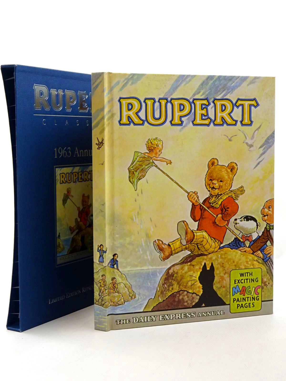 Photo of RUPERT ANNUAL 1963 (FACSIMILE) written by Bestall, Alfred illustrated by Bestall, Alfred published by Egmont Children's Books Ltd. (STOCK CODE: 1317208)  for sale by Stella & Rose's Books