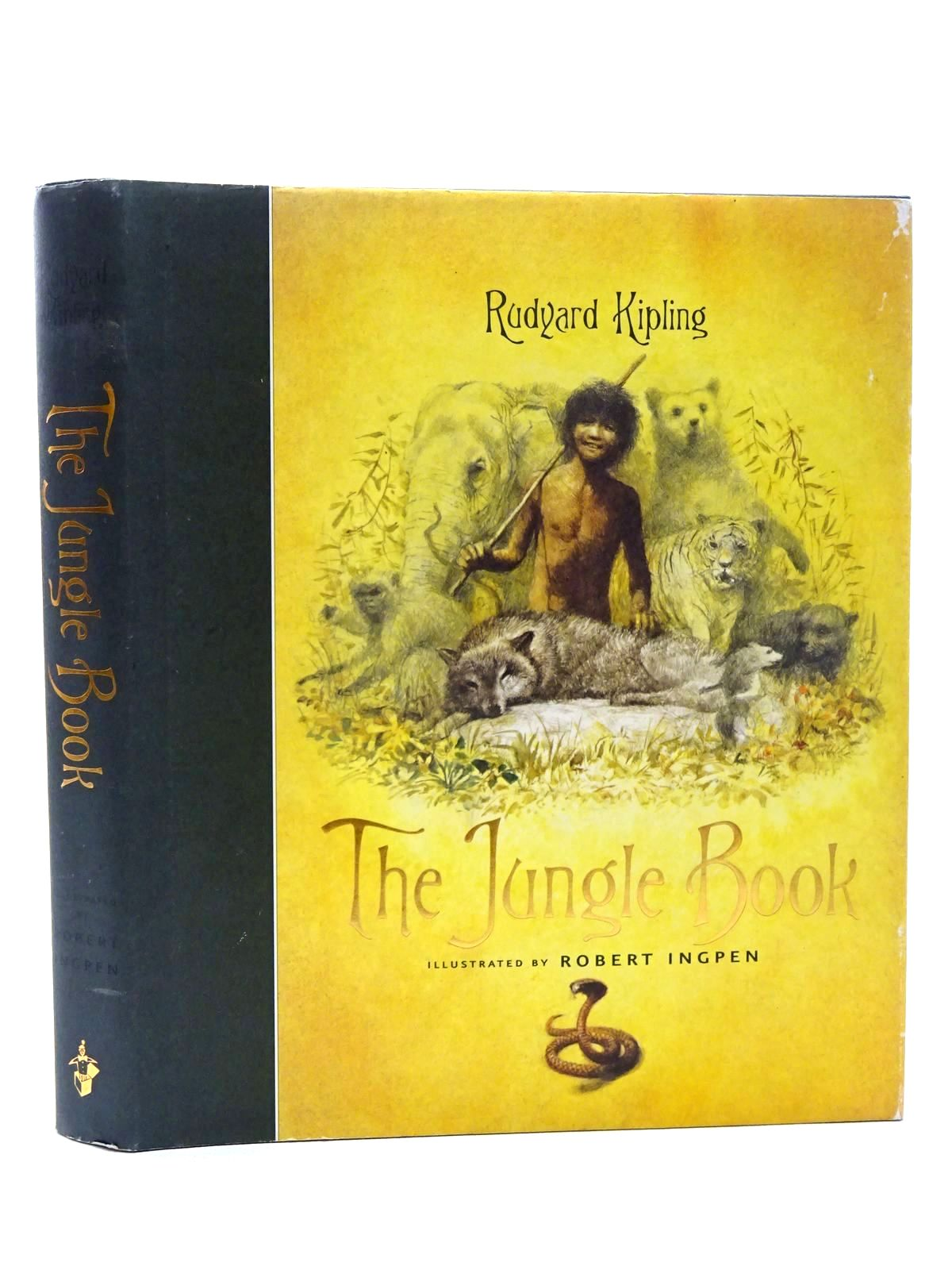Photo of THE JUNGLE BOOK written by Kipling, Rudyard illustrated by Ingpen, Robert published by Templar Publishing (STOCK CODE: 1317233)  for sale by Stella & Rose's Books