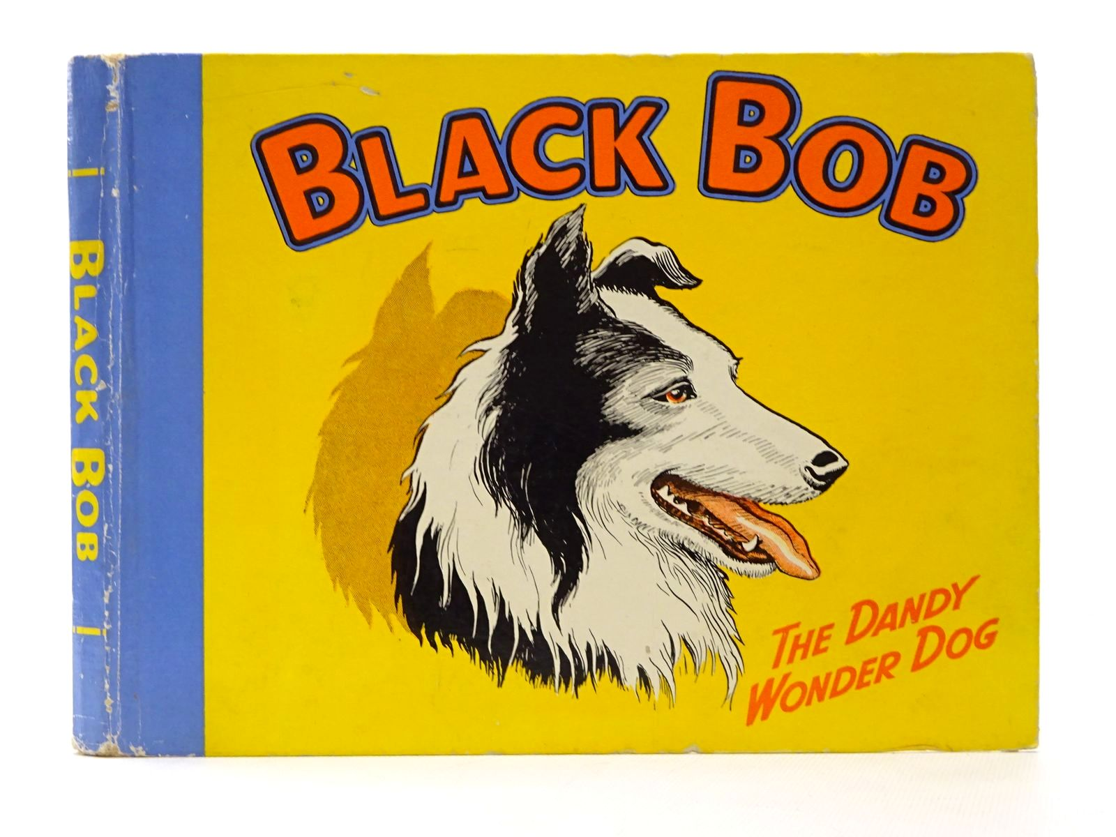 Photo of BLACK BOB THE DANDY WONDER DOG 1955 illustrated by Prout, Jack published by D.C. Thomson & Co Ltd. (STOCK CODE: 1317248)  for sale by Stella & Rose's Books