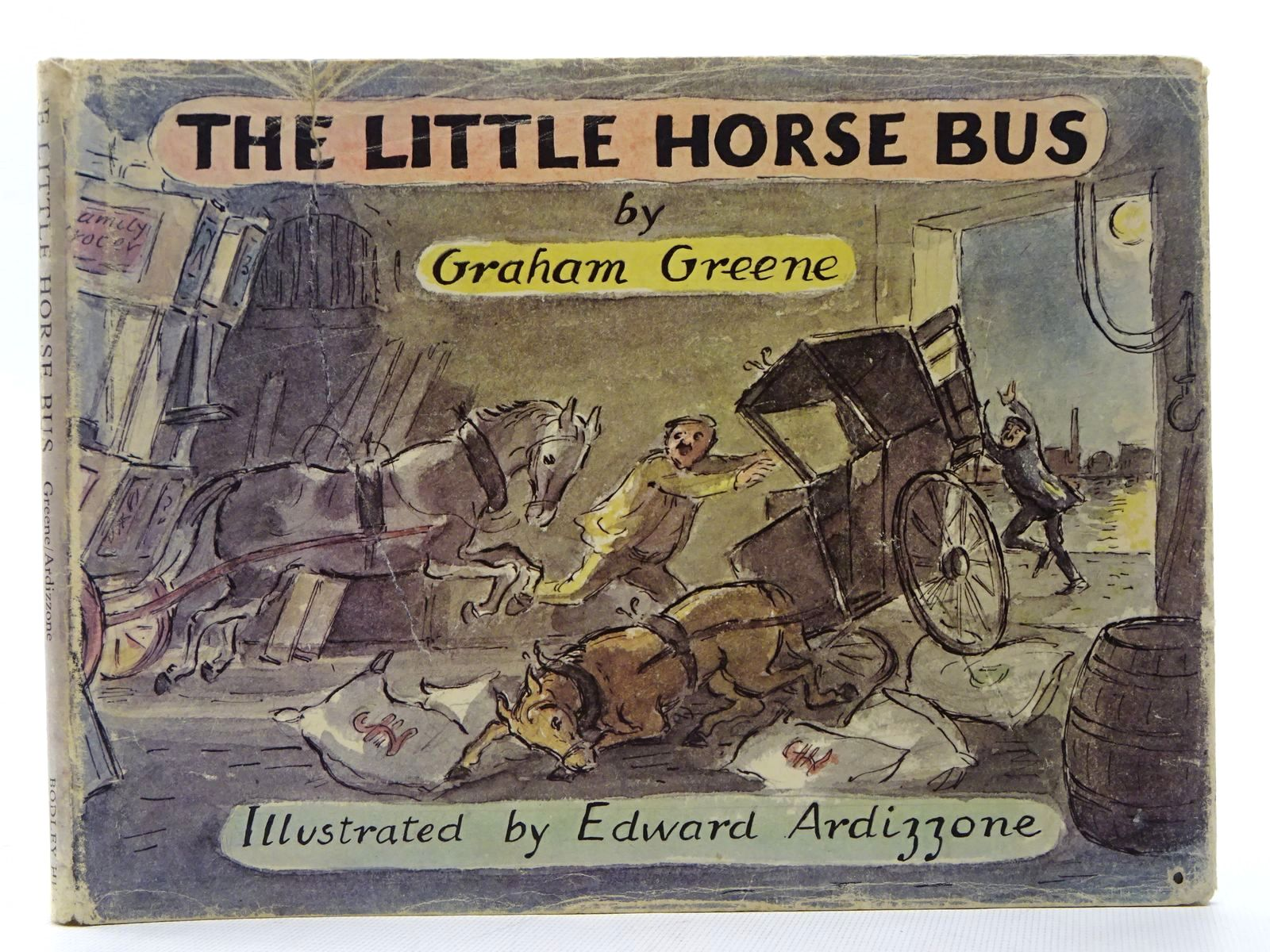 Photo of THE LITTLE HORSE BUS written by Greene, Graham illustrated by Ardizzone, Edward published by The Bodley Head (STOCK CODE: 1317274)  for sale by Stella & Rose's Books