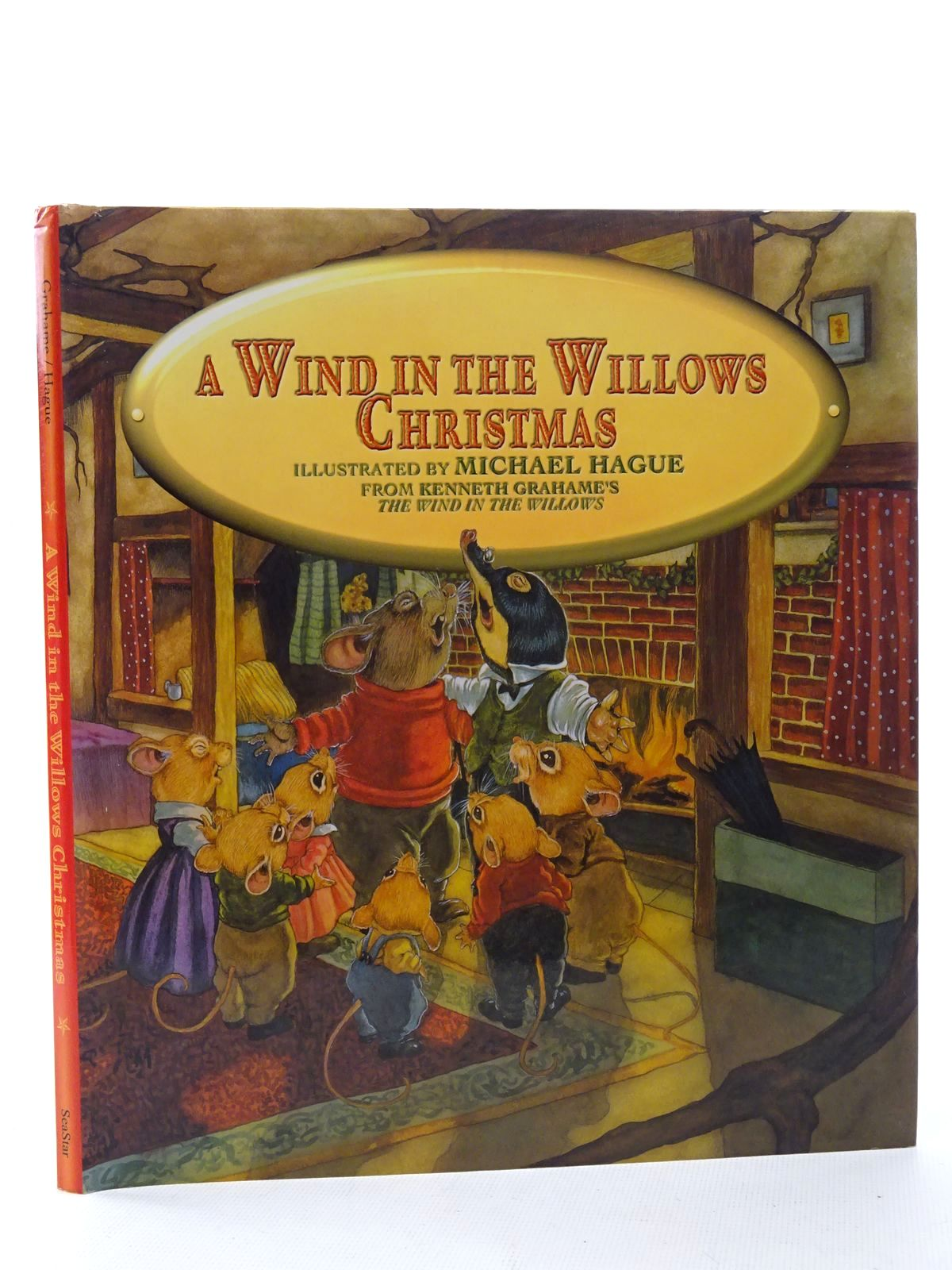 Photo of A WIND IN THE WILLOWS CHRISTMAS written by Grahame, Kenneth illustrated by Hague, Michael published by SeaStar Books (STOCK CODE: 1317277)  for sale by Stella & Rose's Books