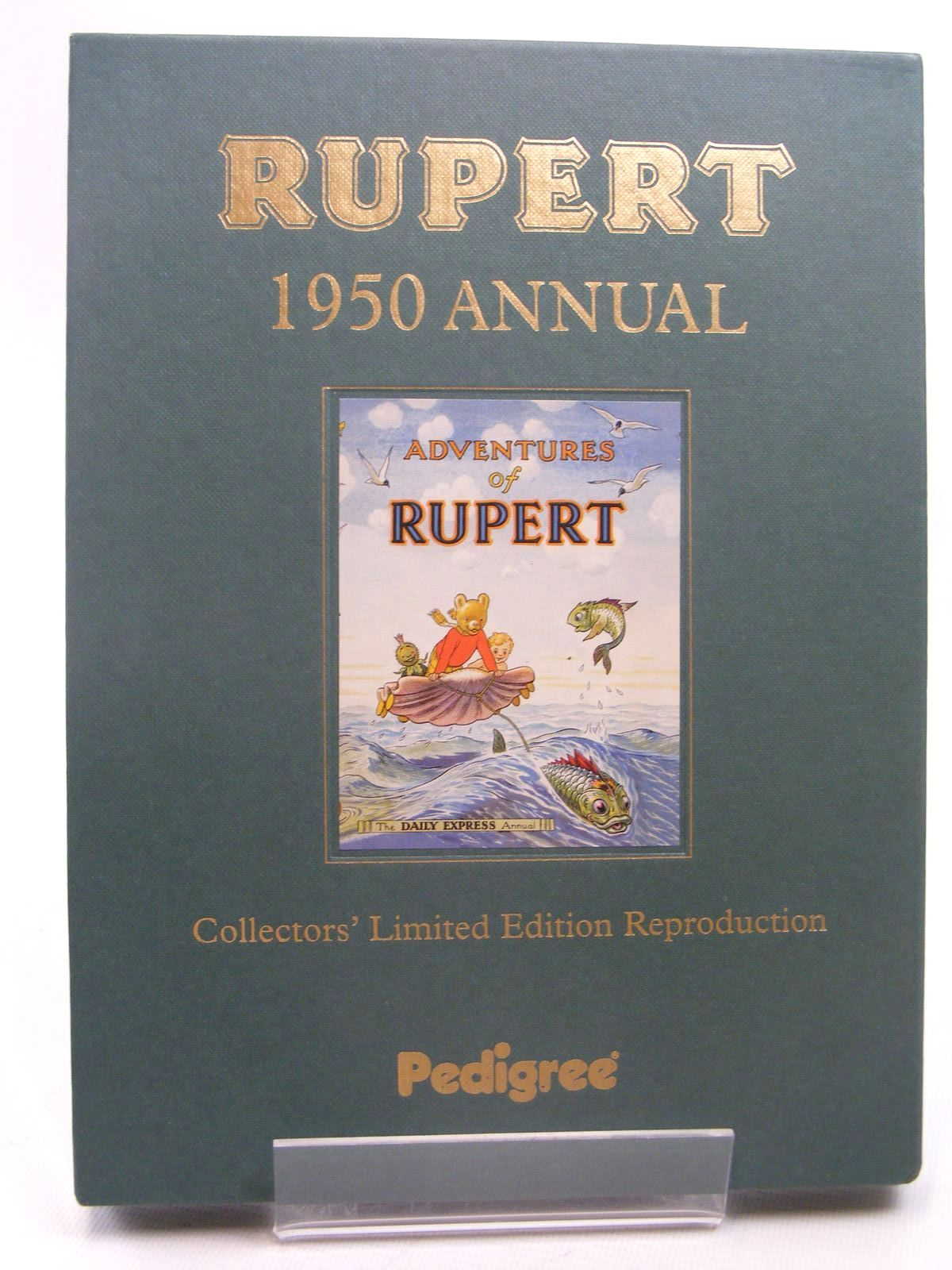 Photo of RUPERT ANNUAL 1950 (FACSIMILE) - ADVENTURES OF RUPERT written by Bestall, Alfred illustrated by Bestall, Alfred published by Pedigree Books Limited (STOCK CODE: 1317287)  for sale by Stella & Rose's Books