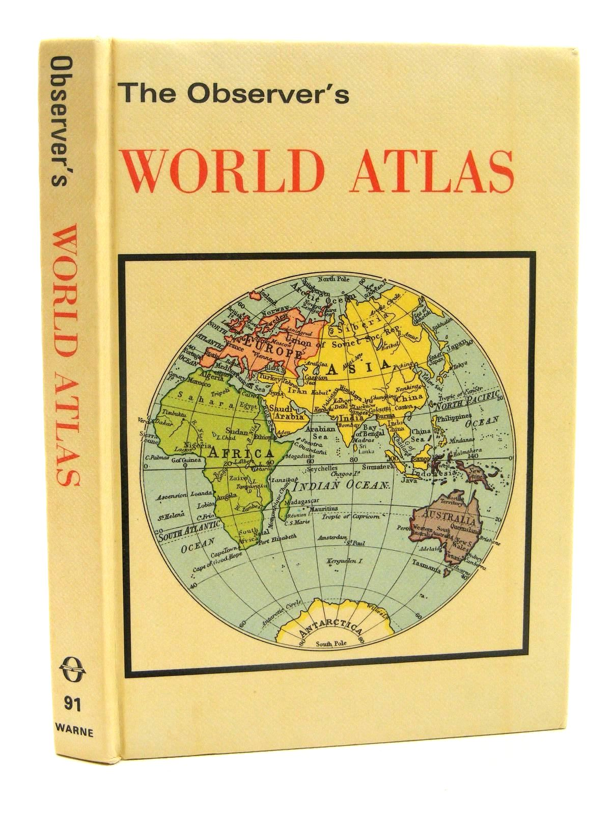 Photo of THE OBSERVER'S WORLD ATLAS written by Bartholomew, John published by Frederick Warne (STOCK CODE: 1317298)  for sale by Stella & Rose's Books