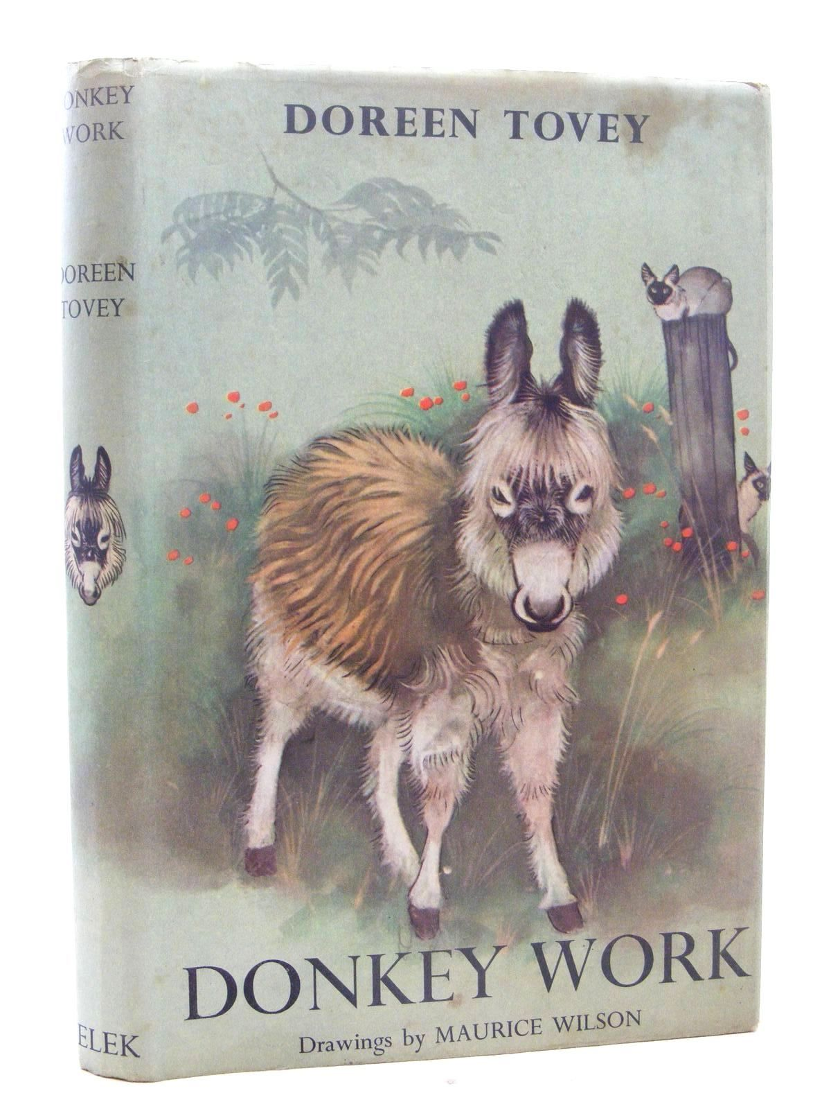 Photo of DONKEY WORK written by Tovey, Doreen illustrated by Wilson, Maurice published by Elek Books (STOCK CODE: 1317311)  for sale by Stella & Rose's Books