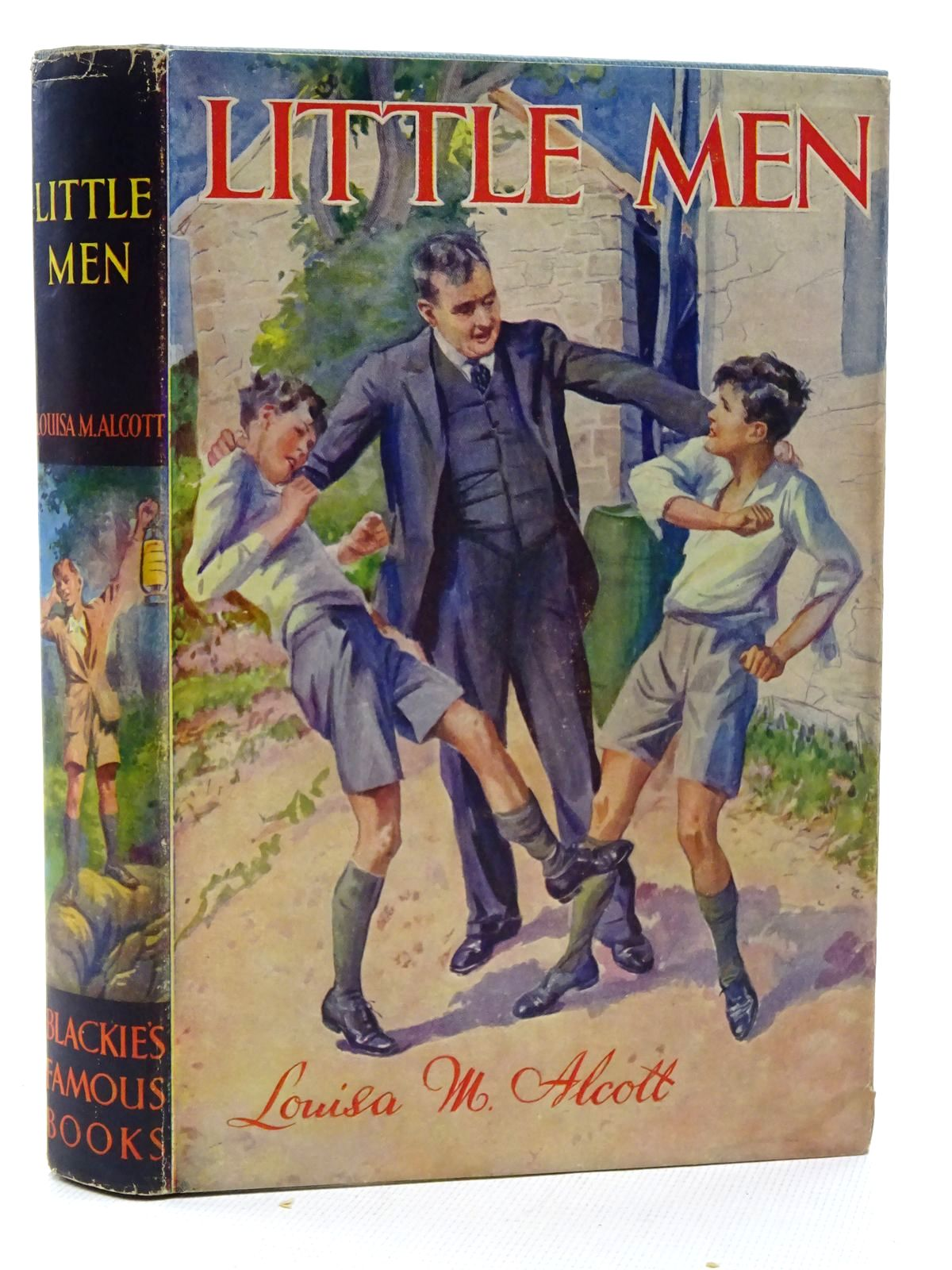 Photo of LITTLE MEN written by Alcott, Louisa M. published by Blackie & Son Ltd. (STOCK CODE: 1317319)  for sale by Stella & Rose's Books