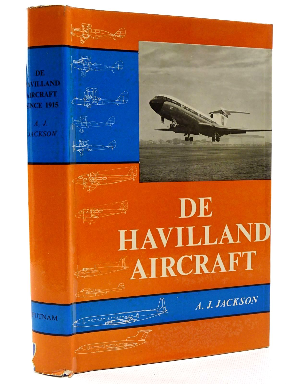 Photo of DE HAVILLAND AIRCRAFT SINCE 1915 written by Jackson, A.J. published by Putnam (STOCK CODE: 1317357)  for sale by Stella & Rose's Books