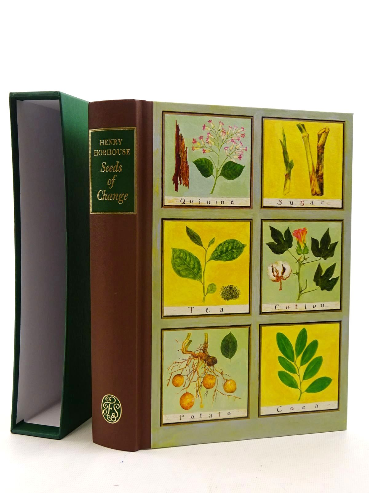 Photo of SEEDS OF CHANGE written by Hobhouse, Henry published by Folio Society (STOCK CODE: 1317386)  for sale by Stella & Rose's Books