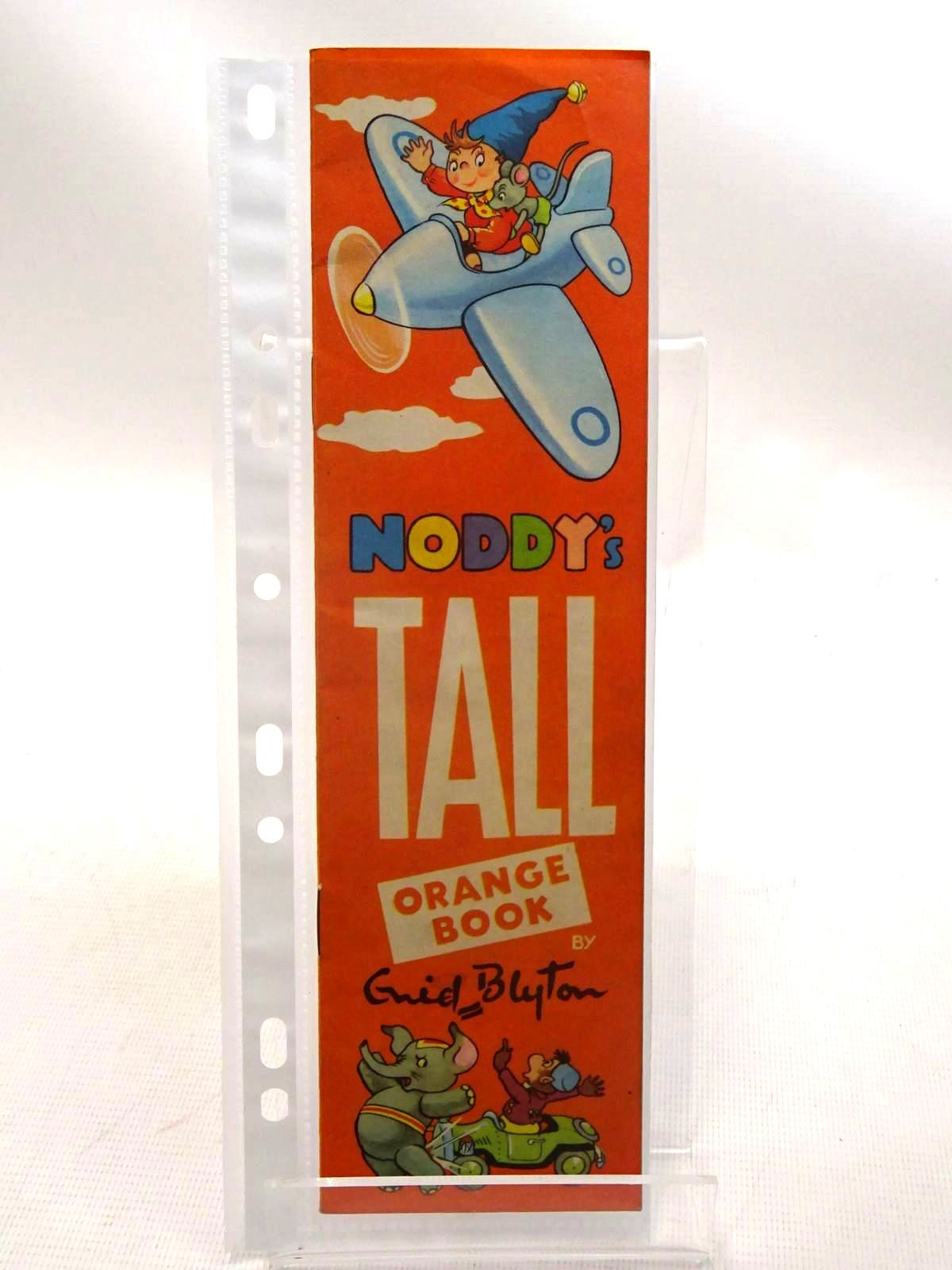 Photo of NODDY'S TALL ORANGE BOOK- Stock Number: 1317401