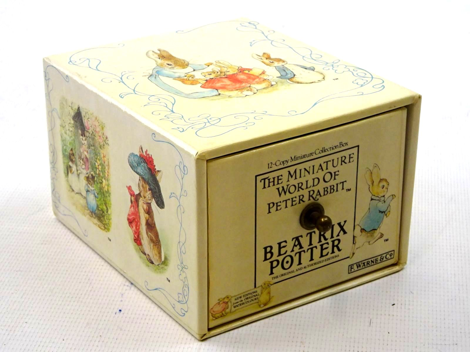 Photo of THE MINIATURE WORLD OF PETER RABBIT written by Potter, Beatrix illustrated by Potter, Beatrix published by Frederick Warne (STOCK CODE: 1317413)  for sale by Stella & Rose's Books
