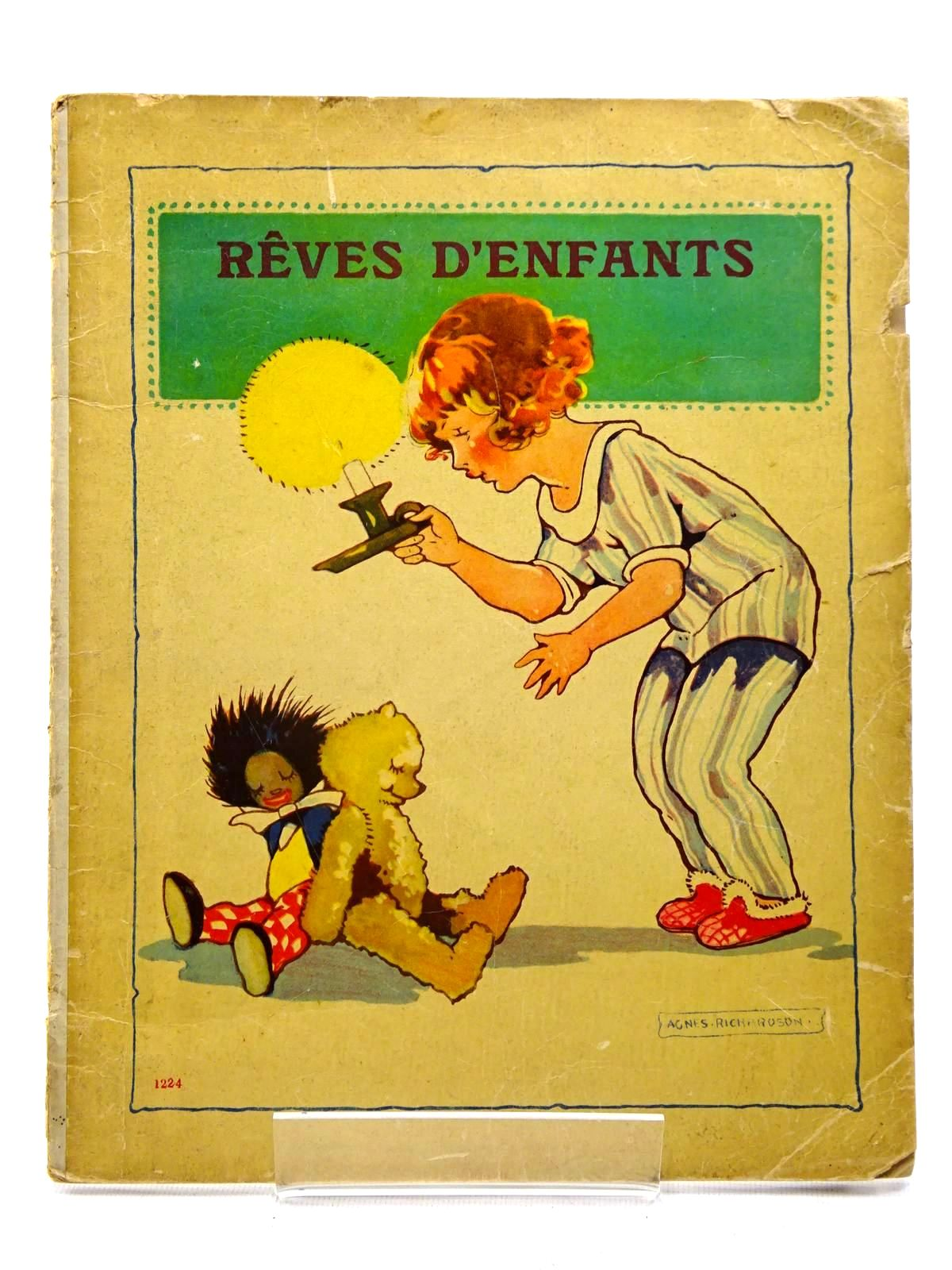 Photo of REVES D'ENFANTS illustrated by Richardson, Agnes (STOCK CODE: 1317430)  for sale by Stella & Rose's Books