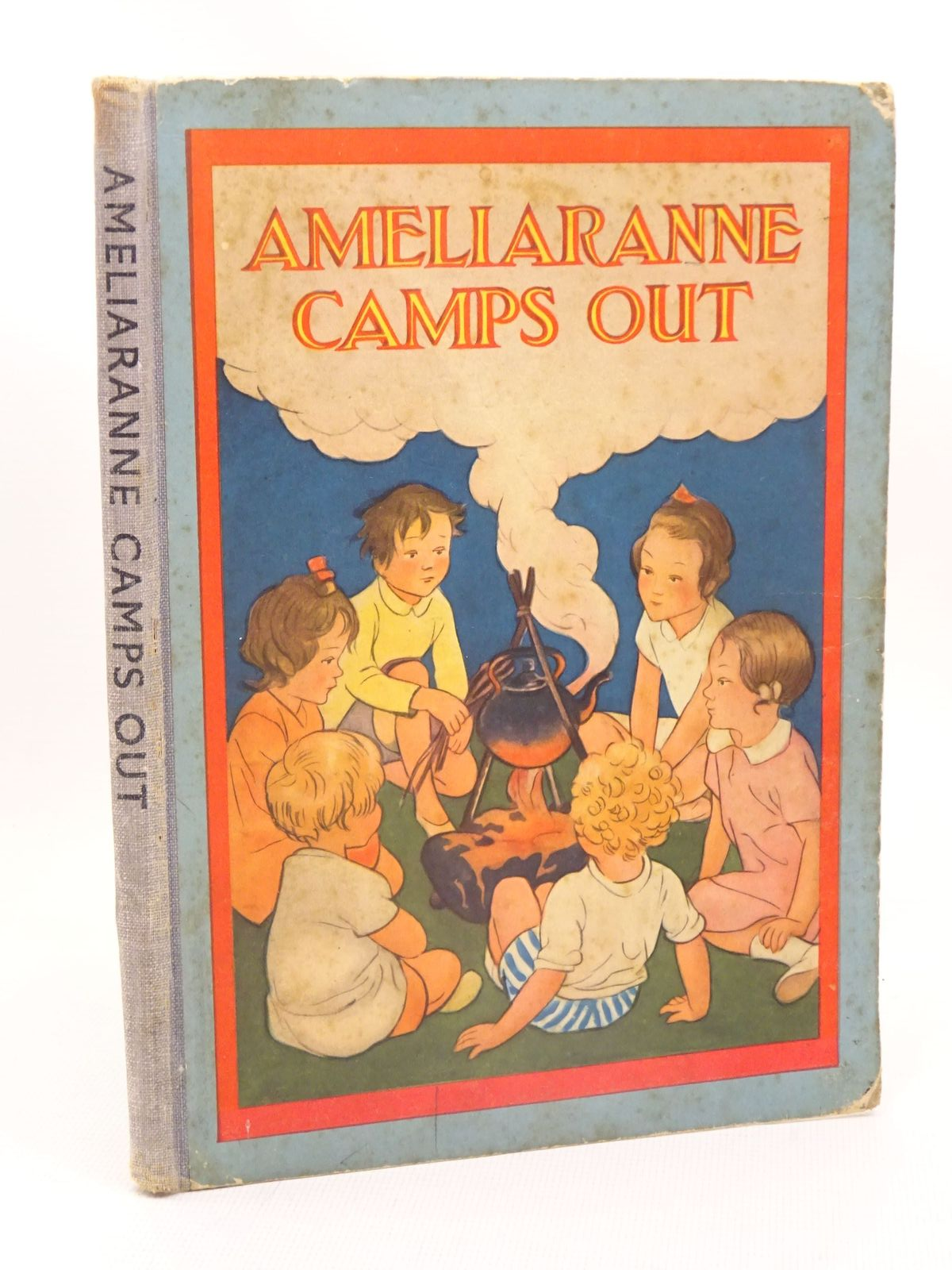 Photo of AMELIARANNE CAMPS OUT written by Heward, Constance illustrated by Pearse, S.B. published by George G. Harrap & Co. Ltd. (STOCK CODE: 1317438)  for sale by Stella & Rose's Books