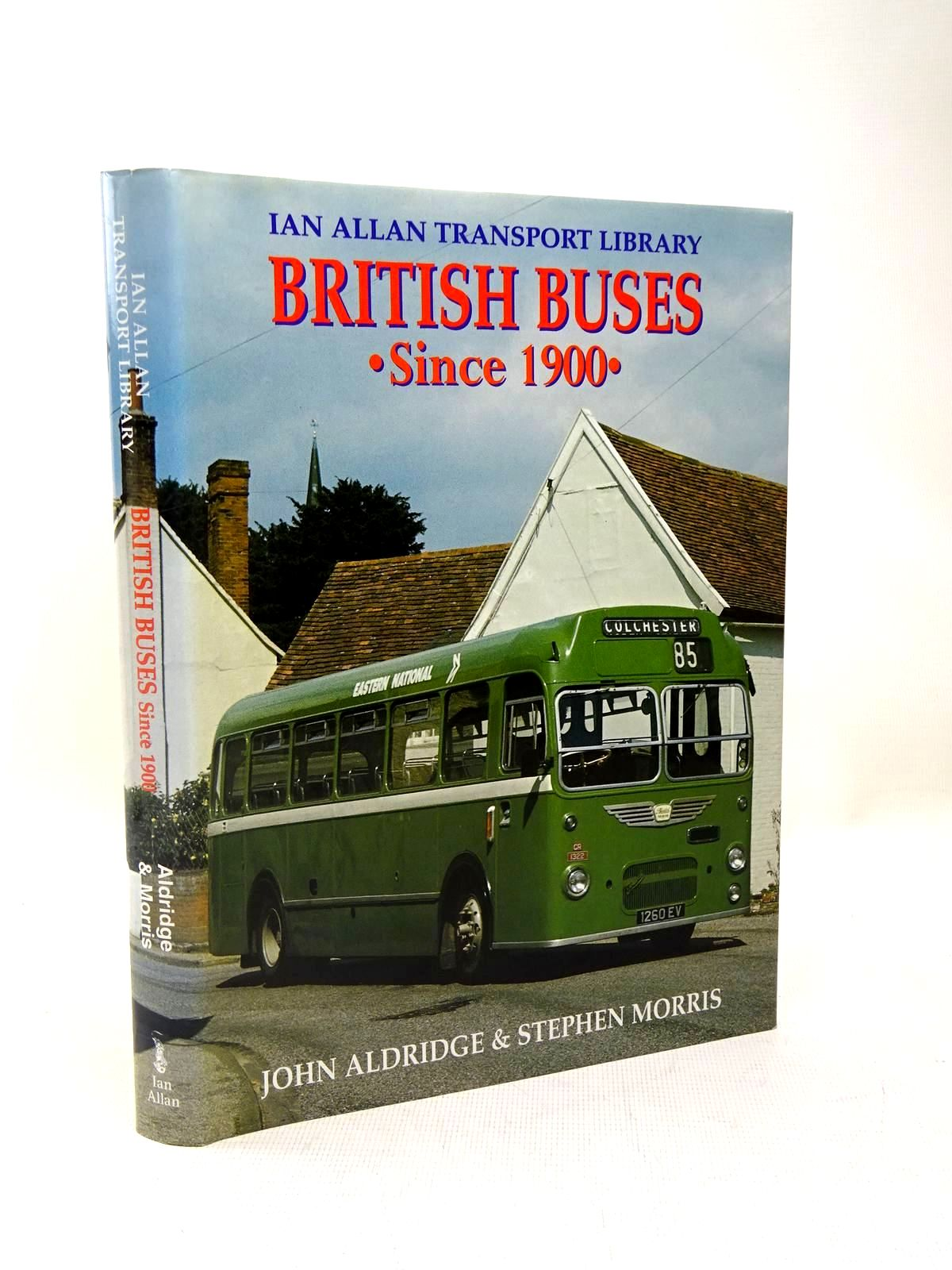 Photo of BRITISH BUSES SINCE 1900 written by Aldridge, John