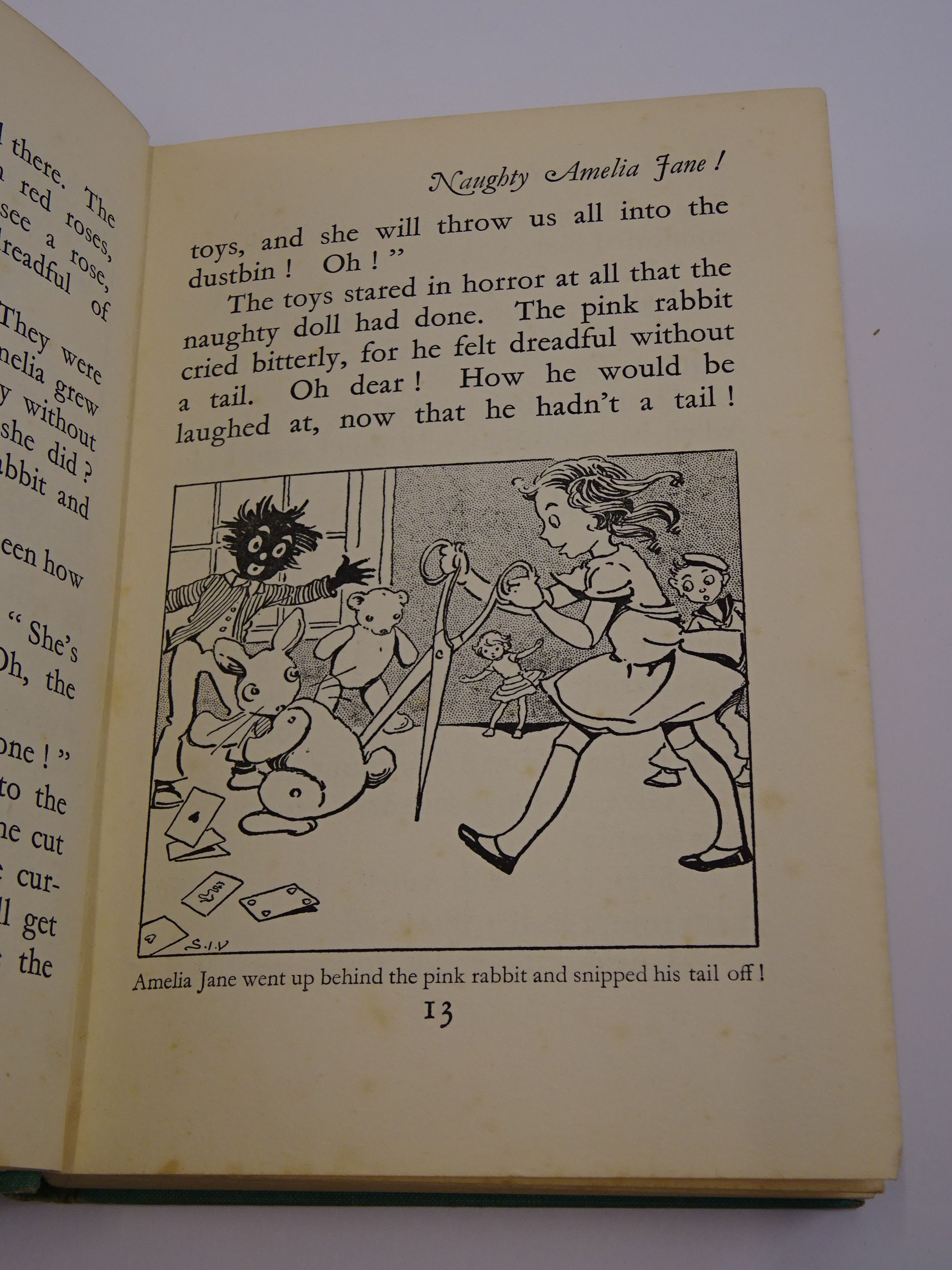 Photo of NAUGHTY AMELIA JANE! written by Blyton, Enid illustrated by Venus, Sylvia published by George Newnes Ltd. (STOCK CODE: 1317510)  for sale by Stella & Rose's Books