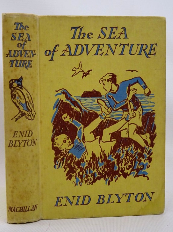 Photo of THE SEA OF ADVENTURE written by Blyton, Enid illustrated by Tresilian, Stuart published by Macmillan & Co. Ltd. (STOCK CODE: 1317513)  for sale by Stella & Rose's Books