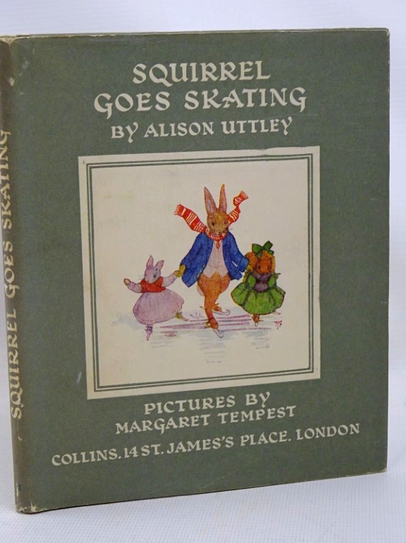 Photo of SQUIRREL GOES SKATING written by Uttley, Alison illustrated by Tempest, Margaret published by Collins (STOCK CODE: 1317514)  for sale by Stella & Rose's Books