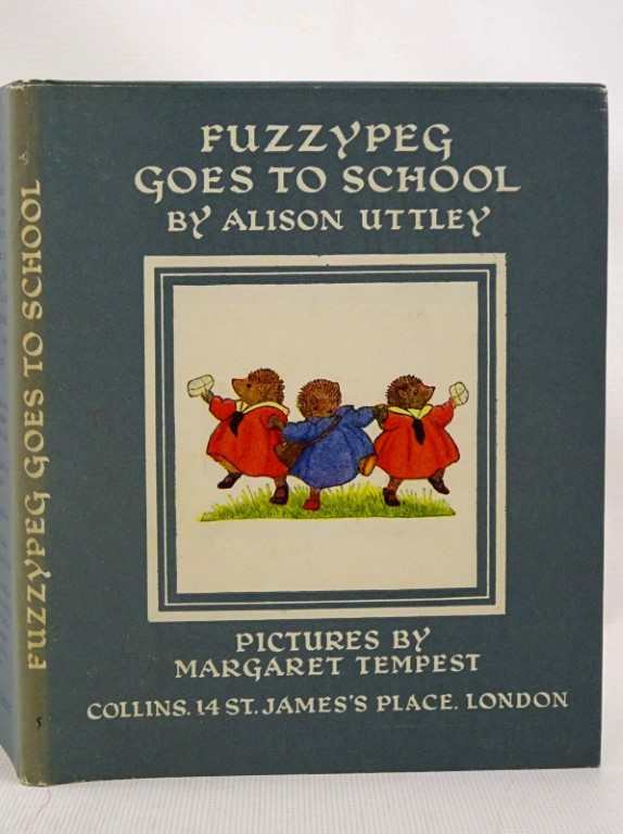Photo of FUZZYPEG GOES TO SCHOOL written by Uttley, Alison illustrated by Tempest, Margaret published by Collins (STOCK CODE: 1317523)  for sale by Stella & Rose's Books